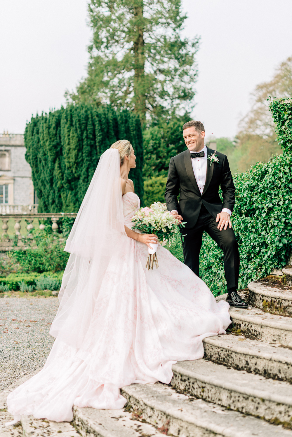A Musical, Cherry Blossom-Filled Wedding in the Heart of the Irish Countryside