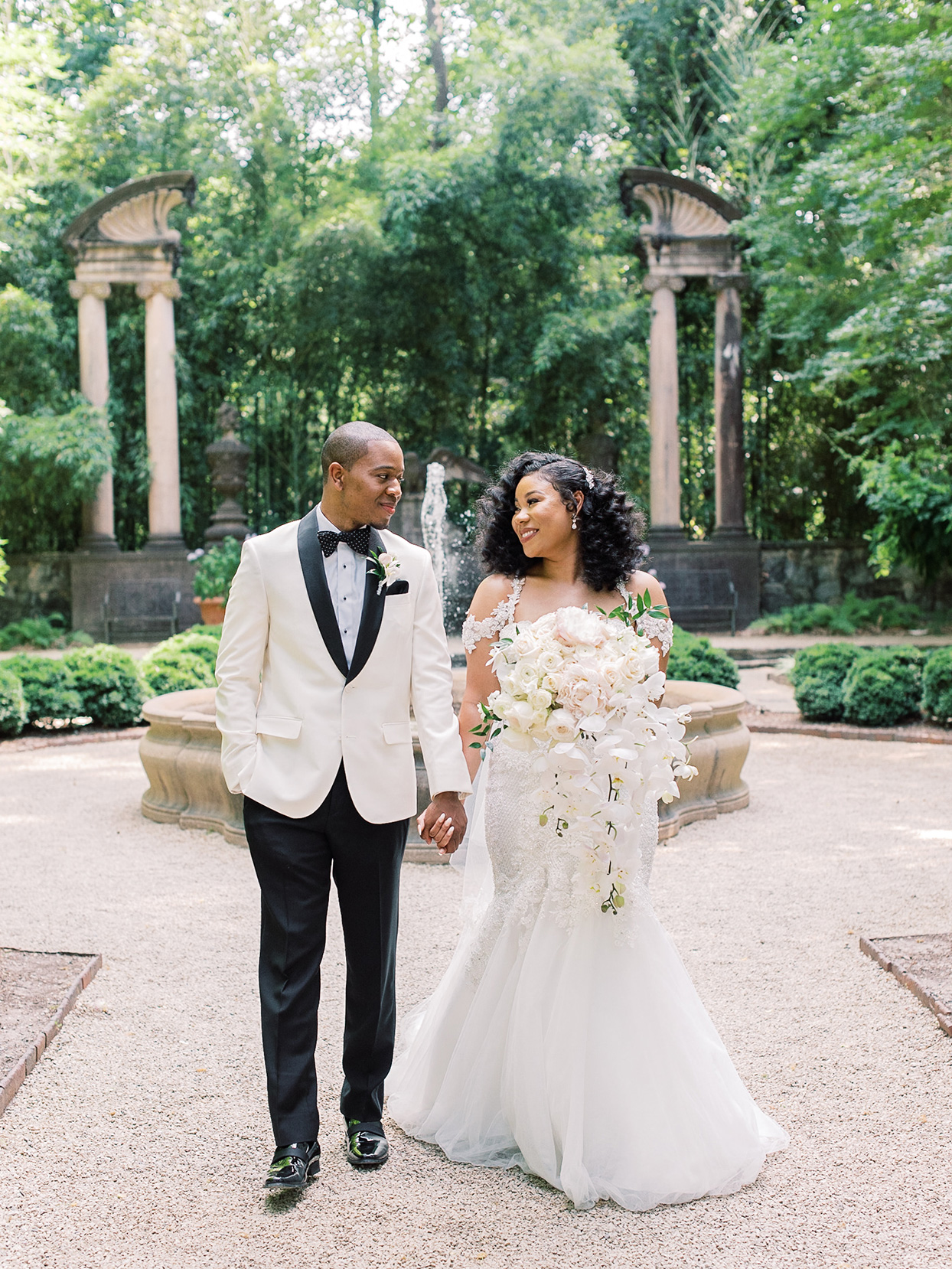 This Wedding in Atlanta—a Summertime Garden Soirée—Exemplified Southern Elegance