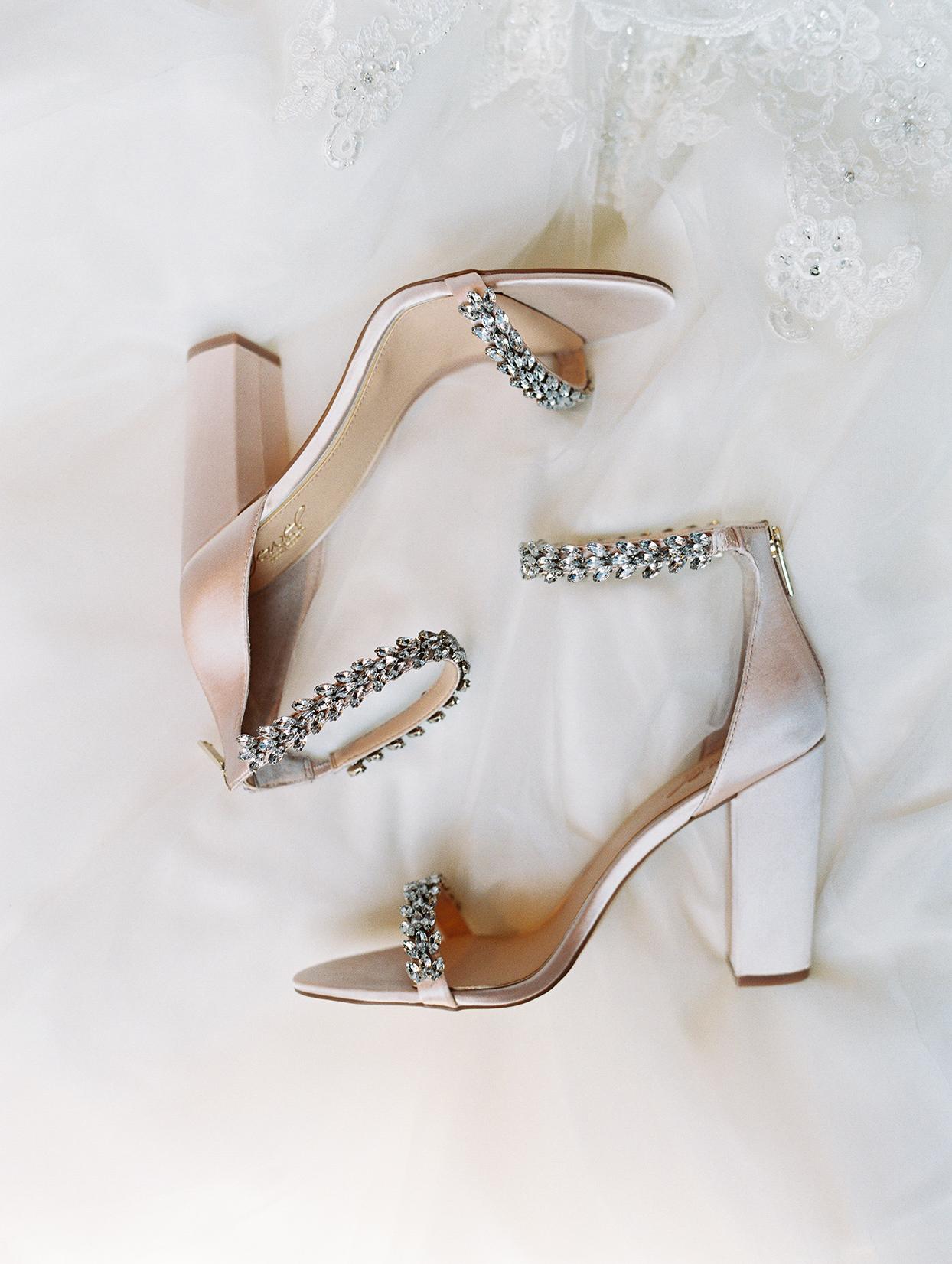amelia justin bride's wedding shoes