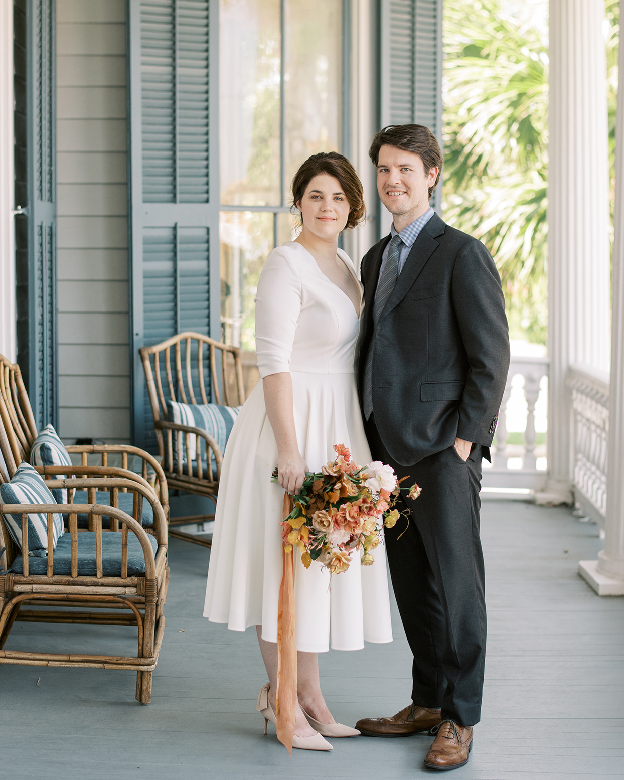 This Intimate Houston Wedding Was a Labor of Pure Love