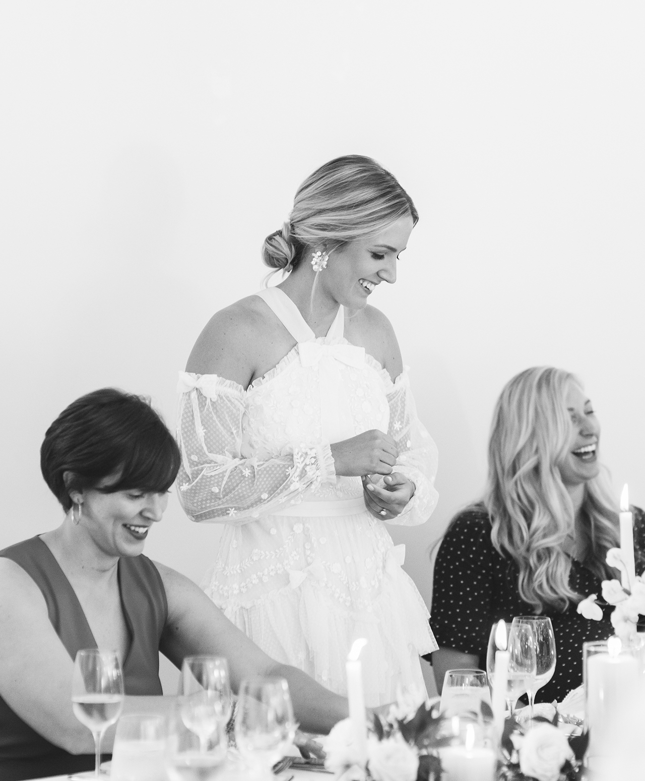 bridal shower bride speech
