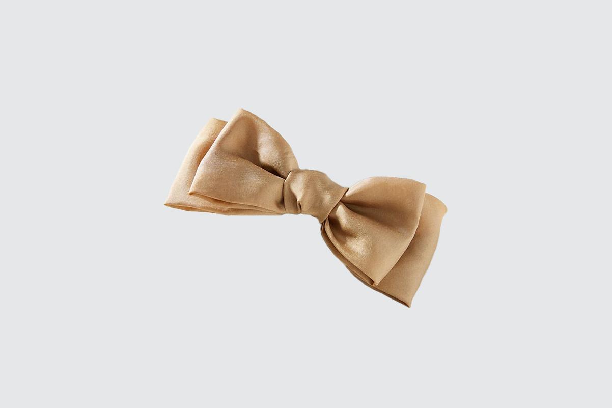 """Donni """"Lulu"""" Silk Bow Barrette"""