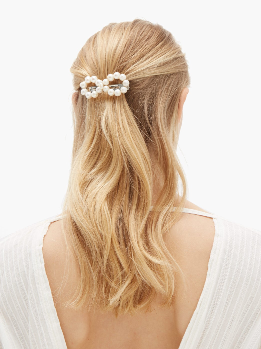 Timeless Pearly Pearl Hair Clip