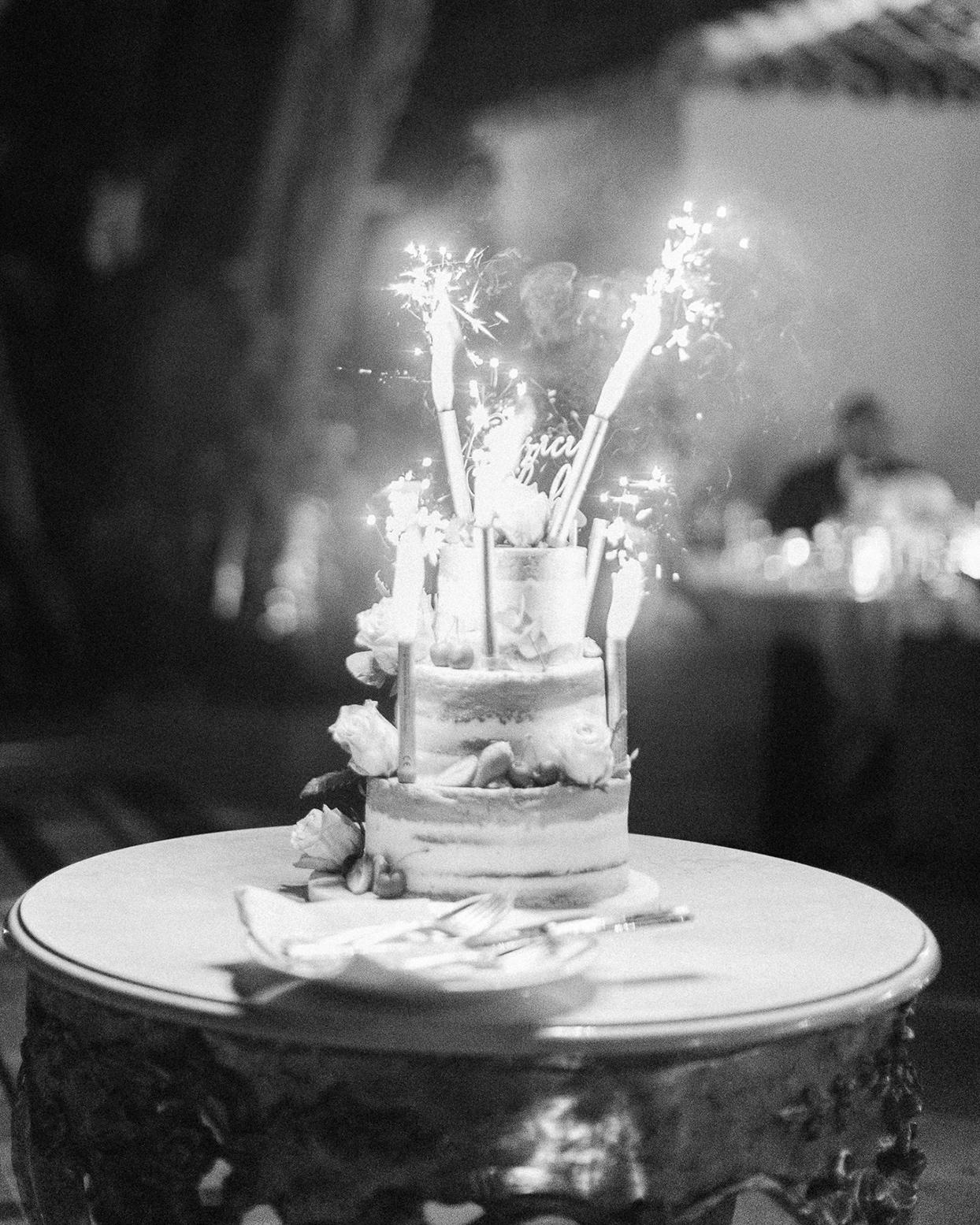 patricia ralph wedding cake with fireworks
