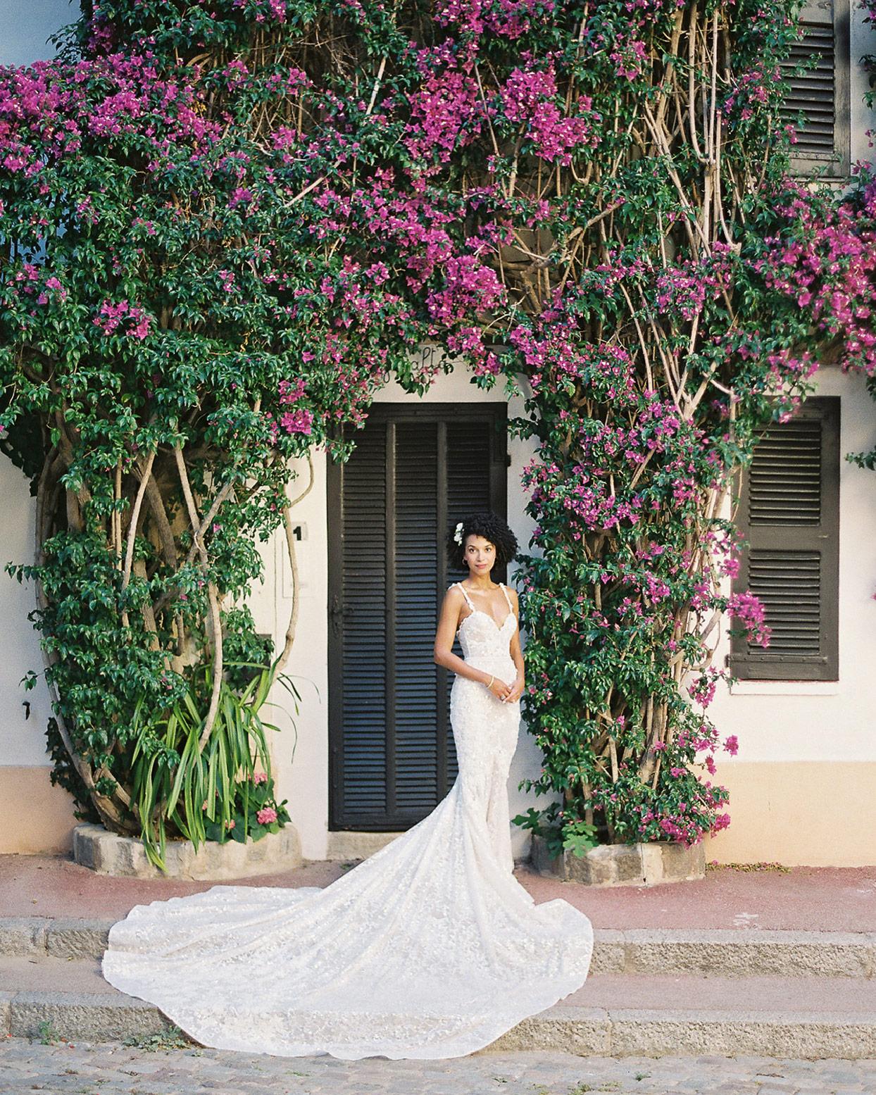 patricia ralph wedding bride in reception dress