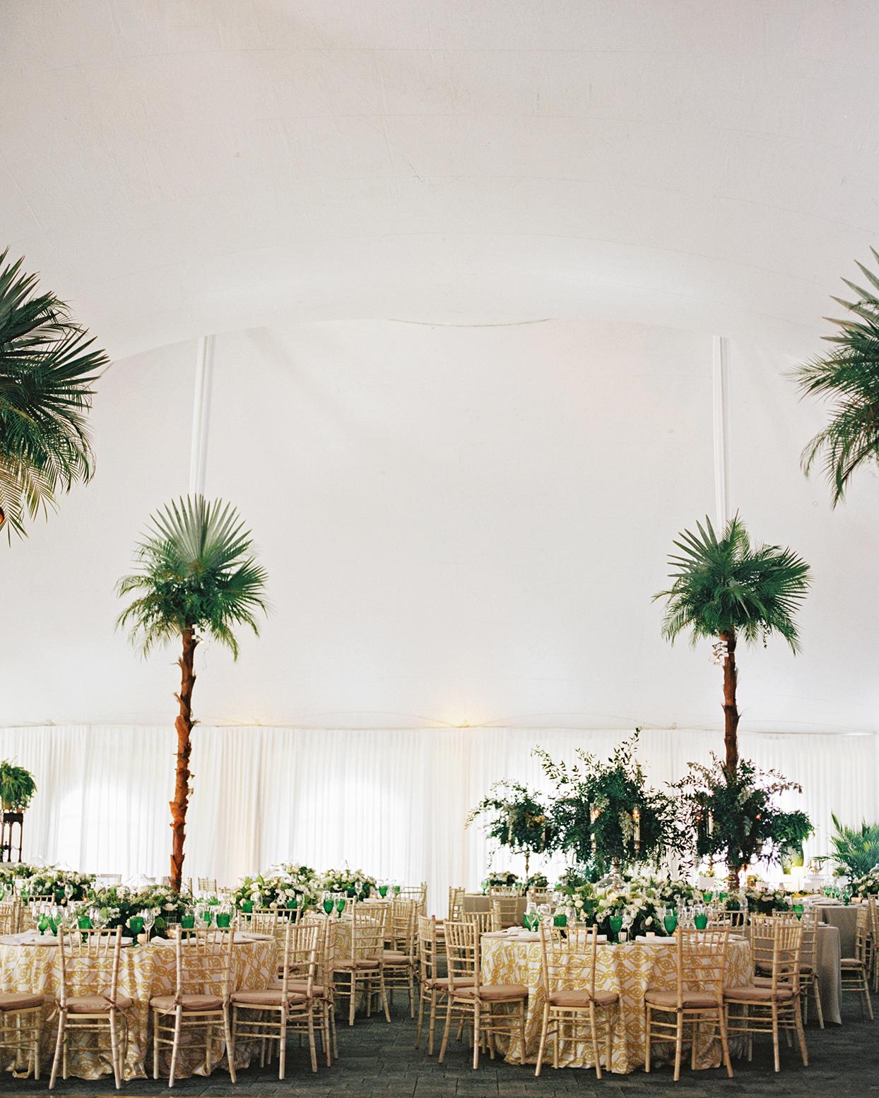 sofia alberto wedding reception tables