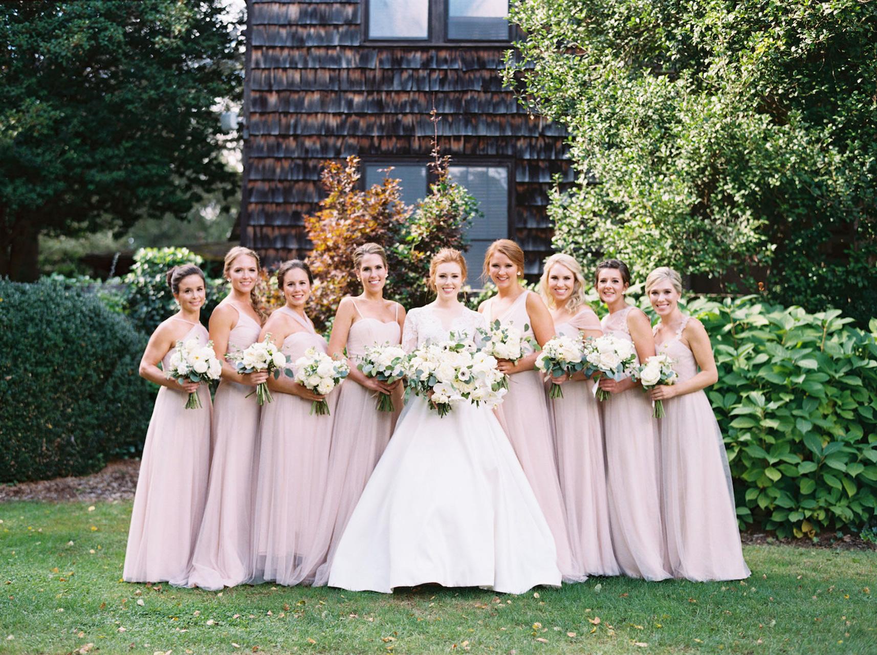 kathleen henry wedding bridesmaids