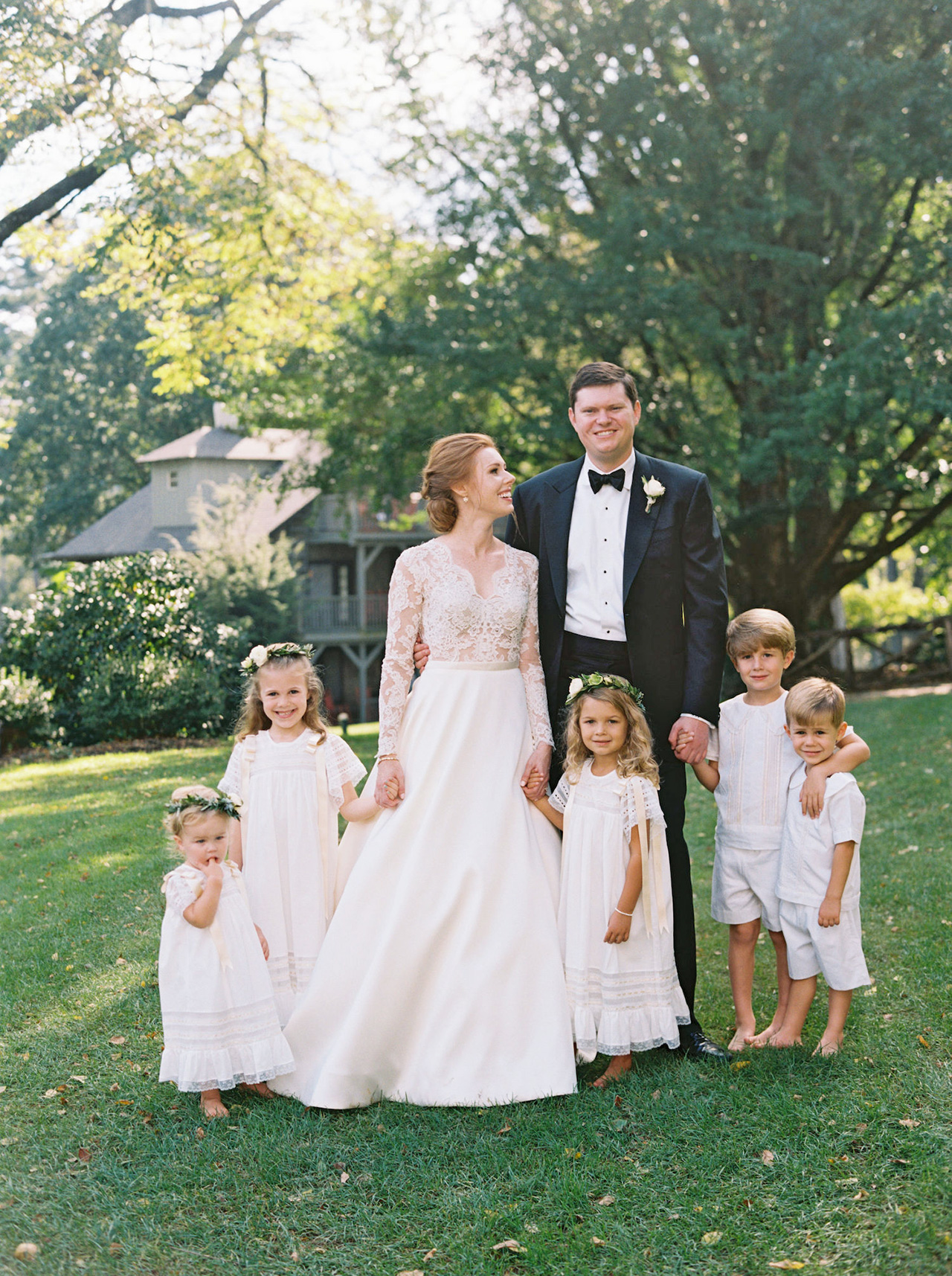 kathleen henry wedding kids