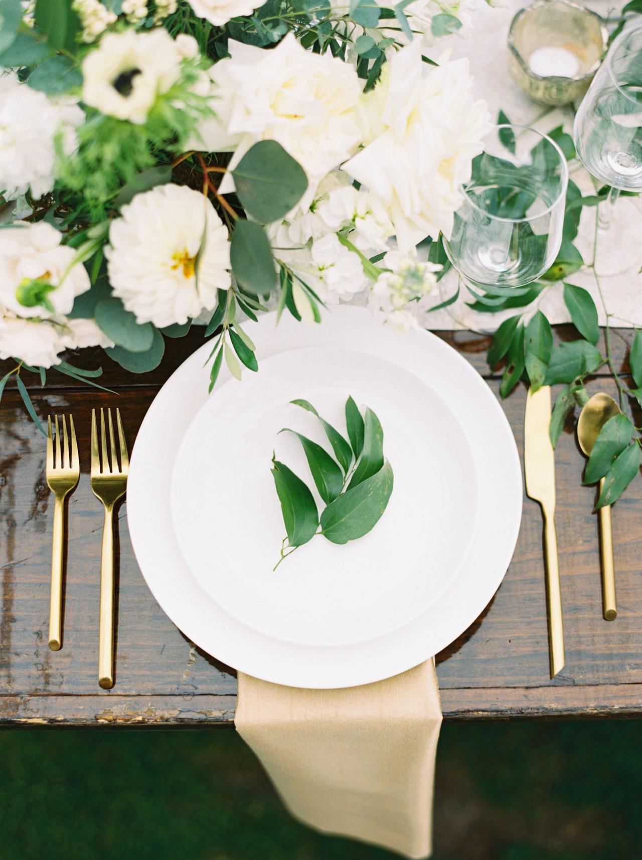 kathleen henry wedding place settings