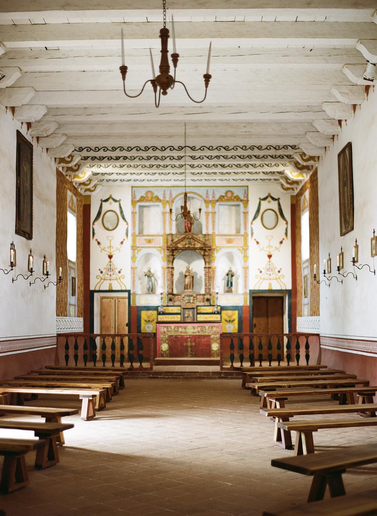 nina devon wedding church indoors
