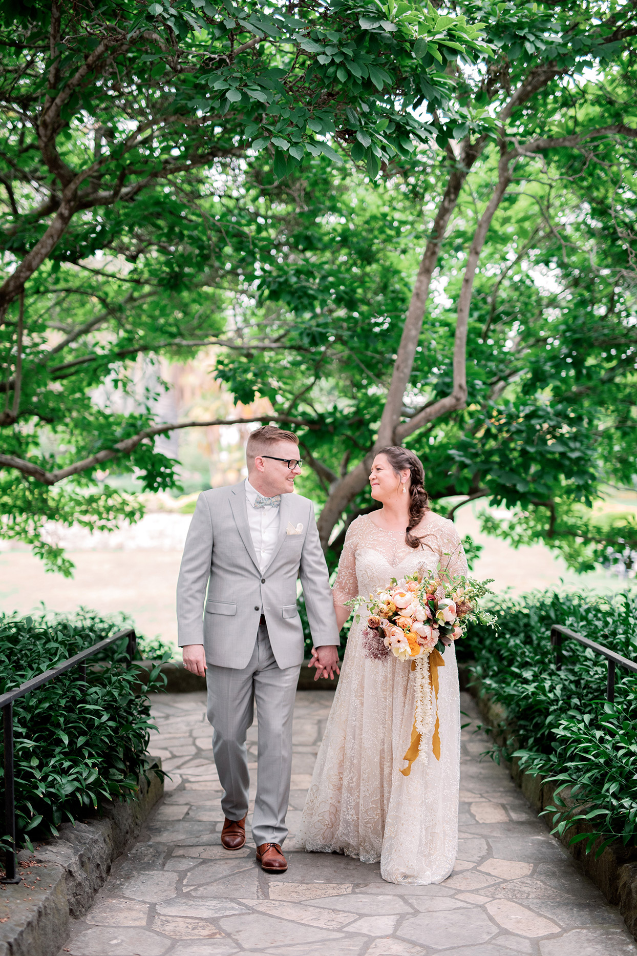This Couple's Santa Barbara Wedding Will Change Your Mind About the Color Yellow