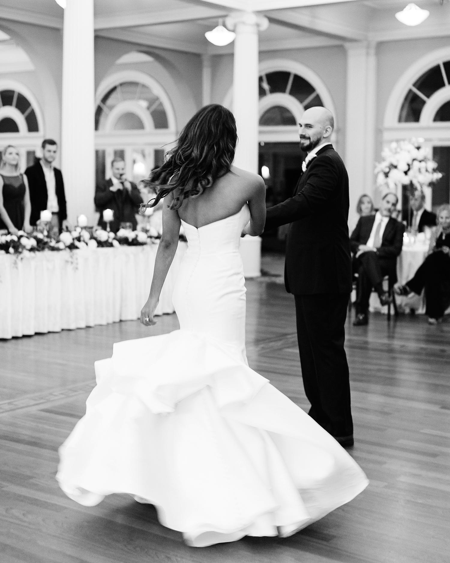 bryanna nick wedding couple first dance reception