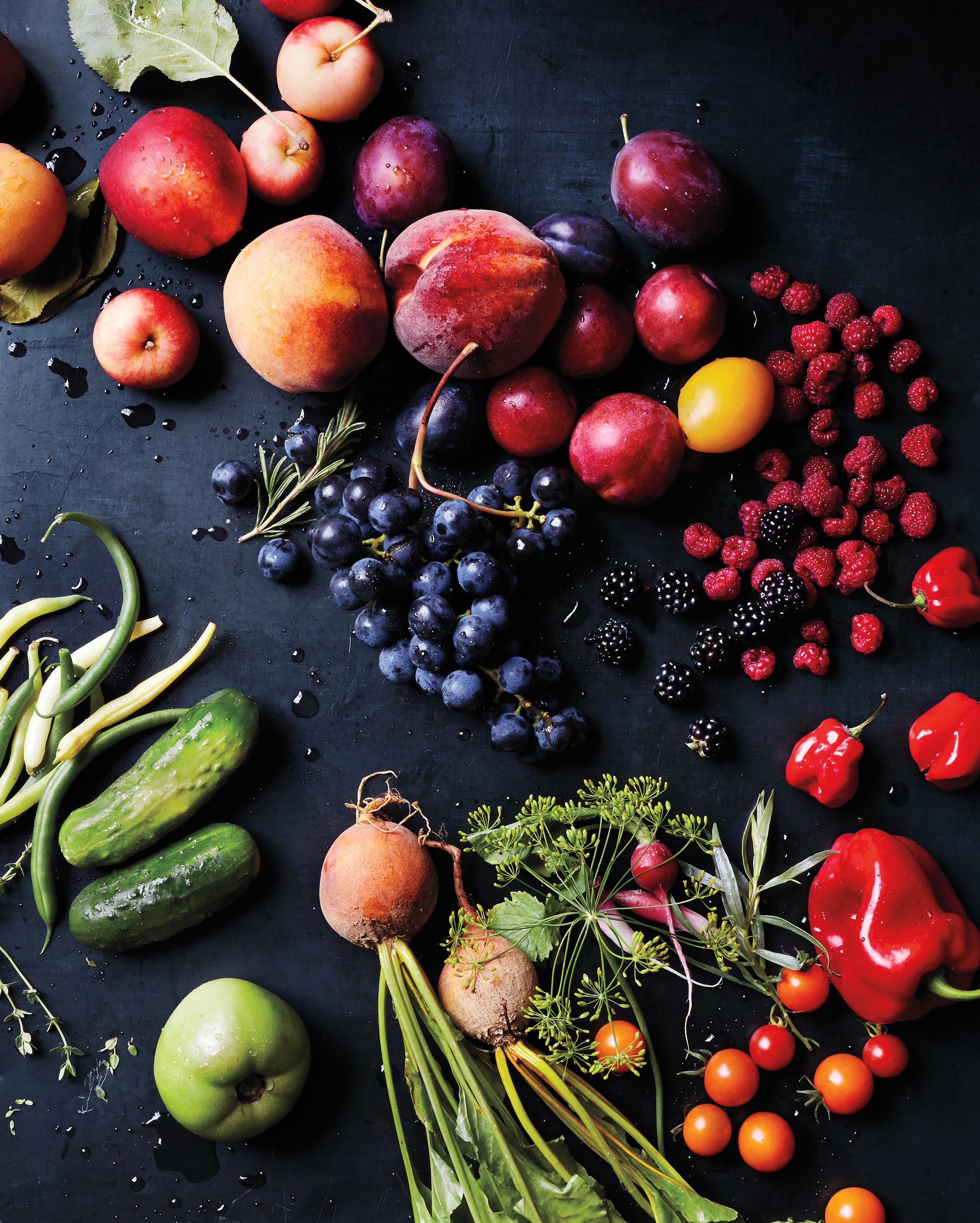 produce fruits vegetables