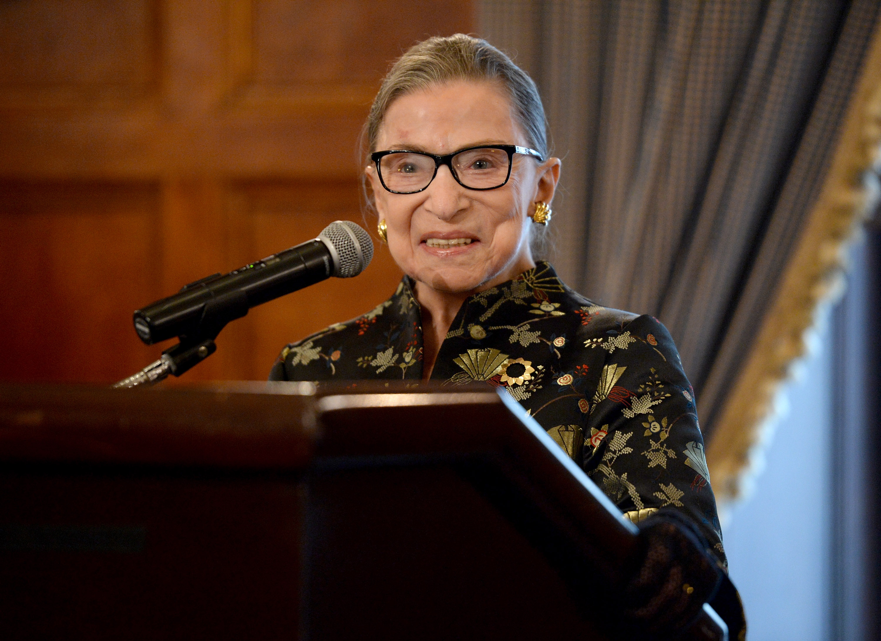 Ruth Bader Ginsburg Just Officiated a Wedding That Was Planned Entirely Around Her Schedule