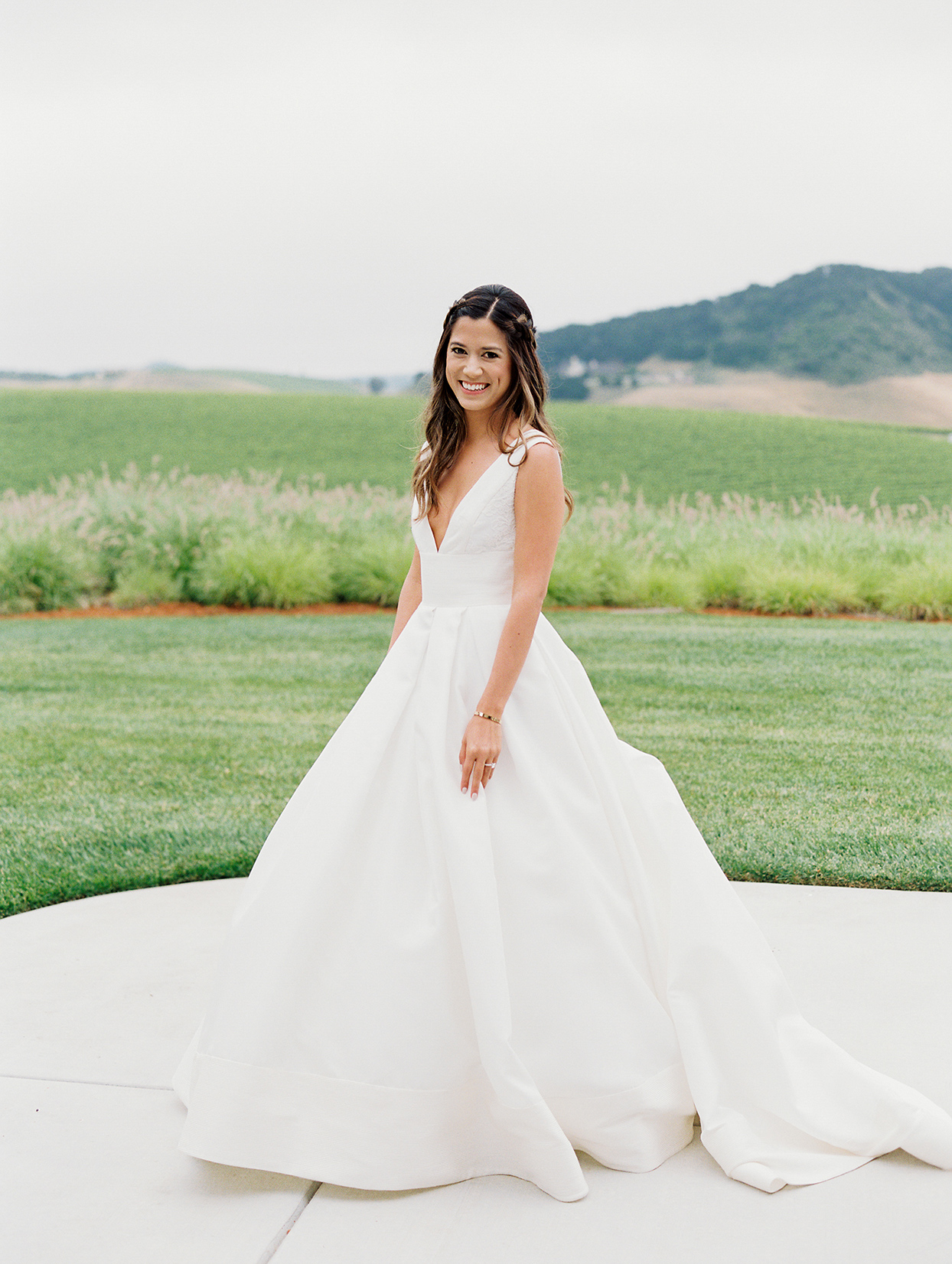 mika steve wedding bride on ranch