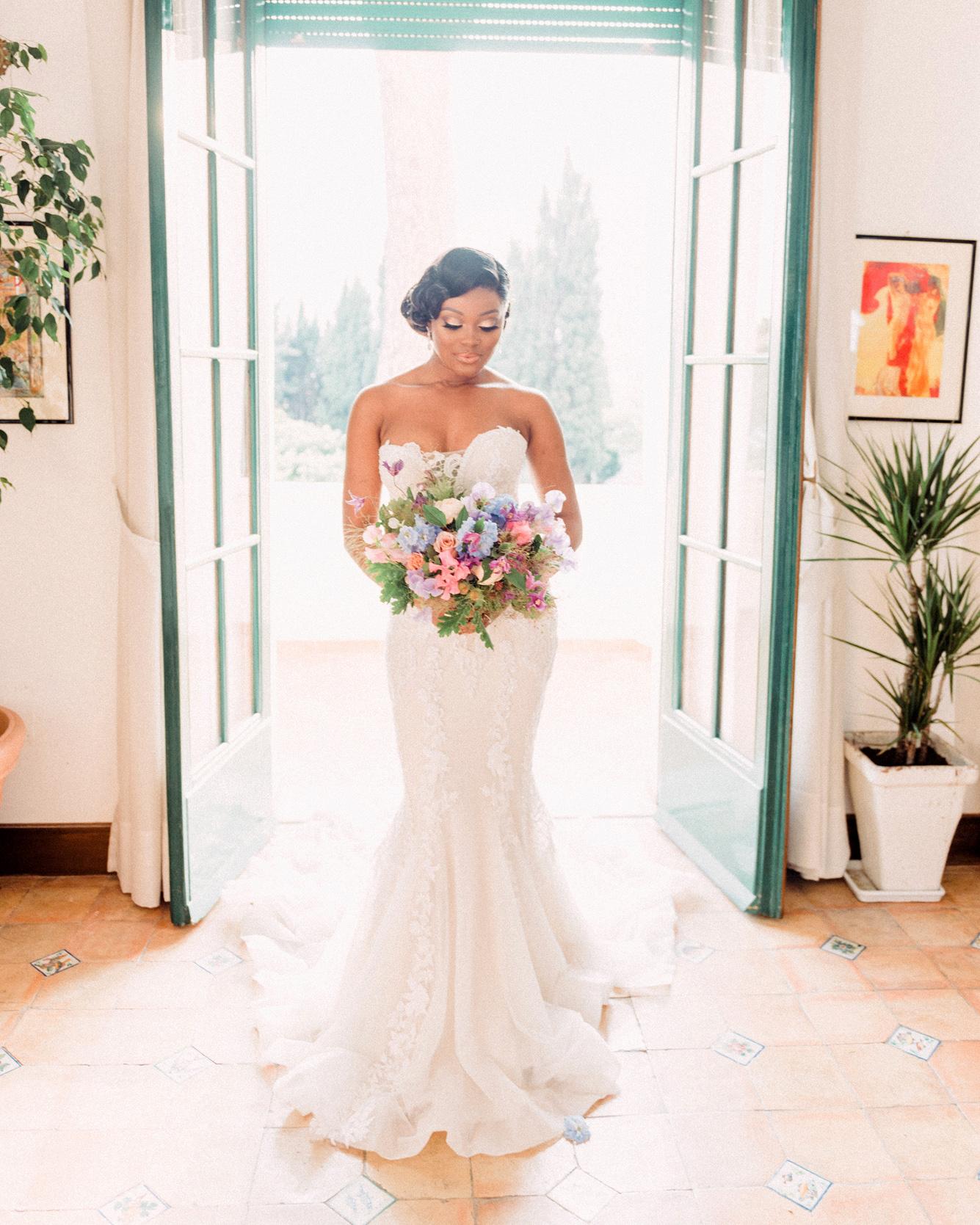 onome efe wedding bride