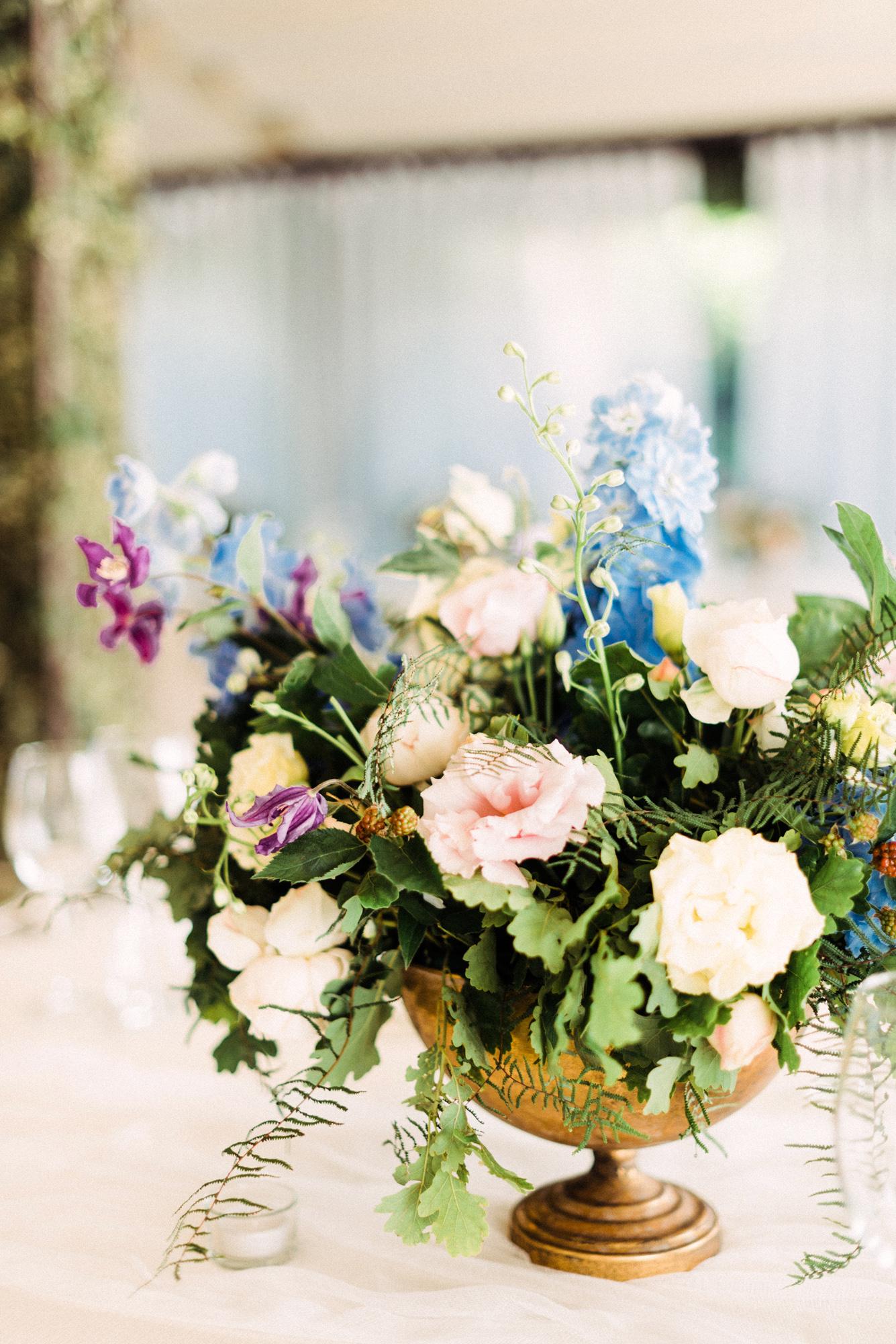 onome efe wedding table centerpieces