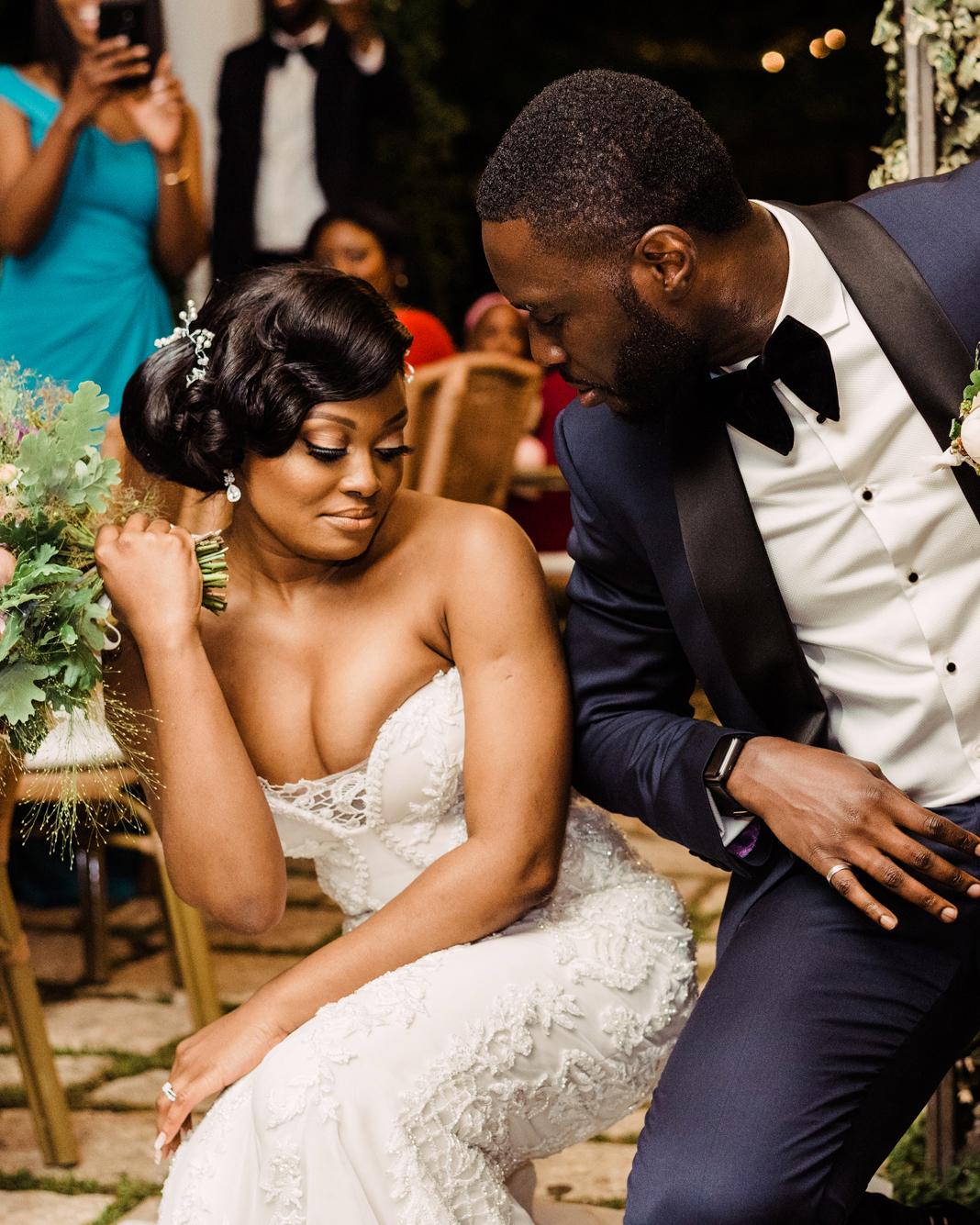 onome efe wedding couple dance
