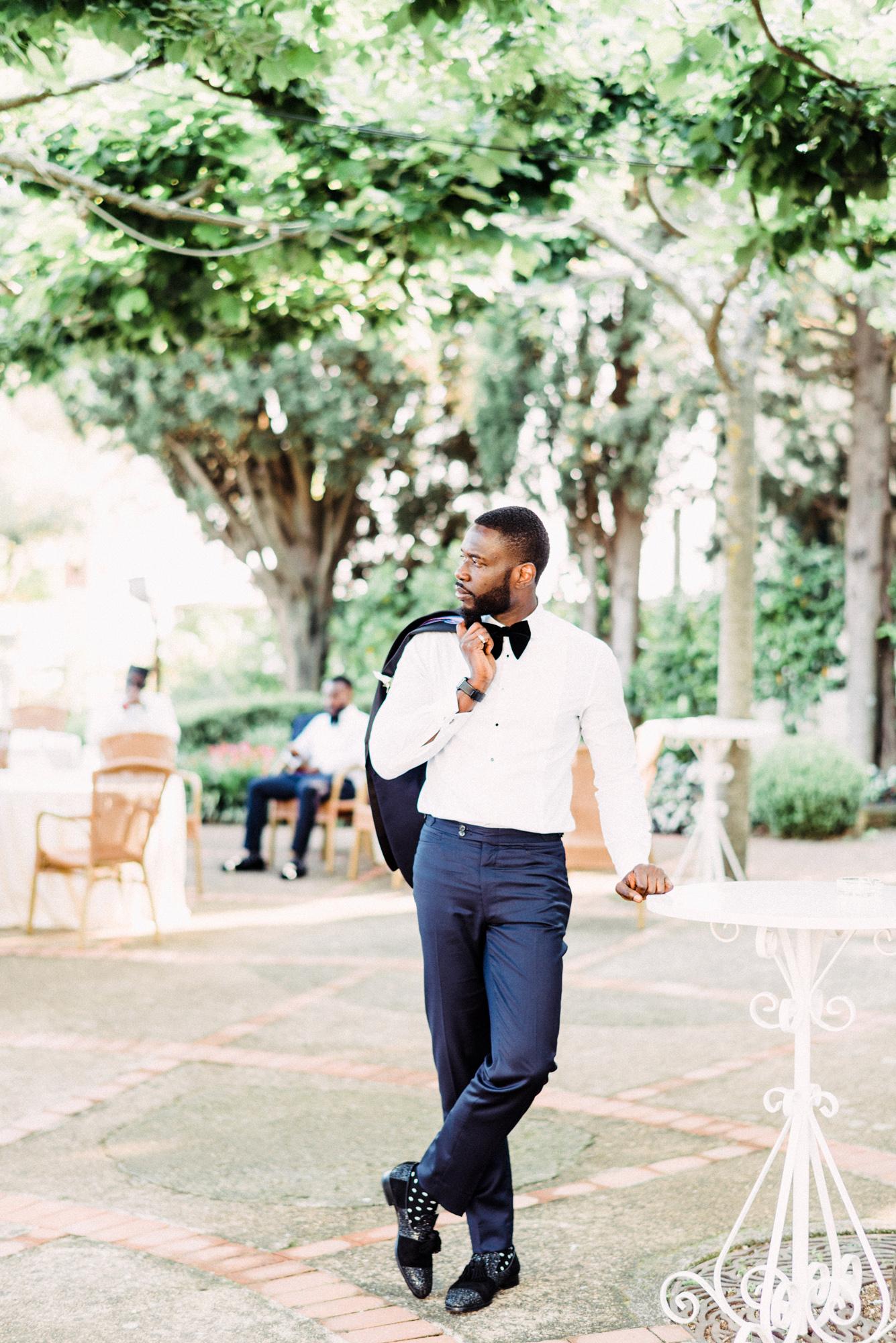 onome efe wedding groom