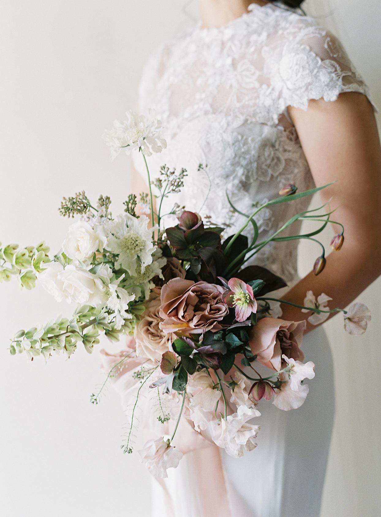 jen alan wedding bouquet