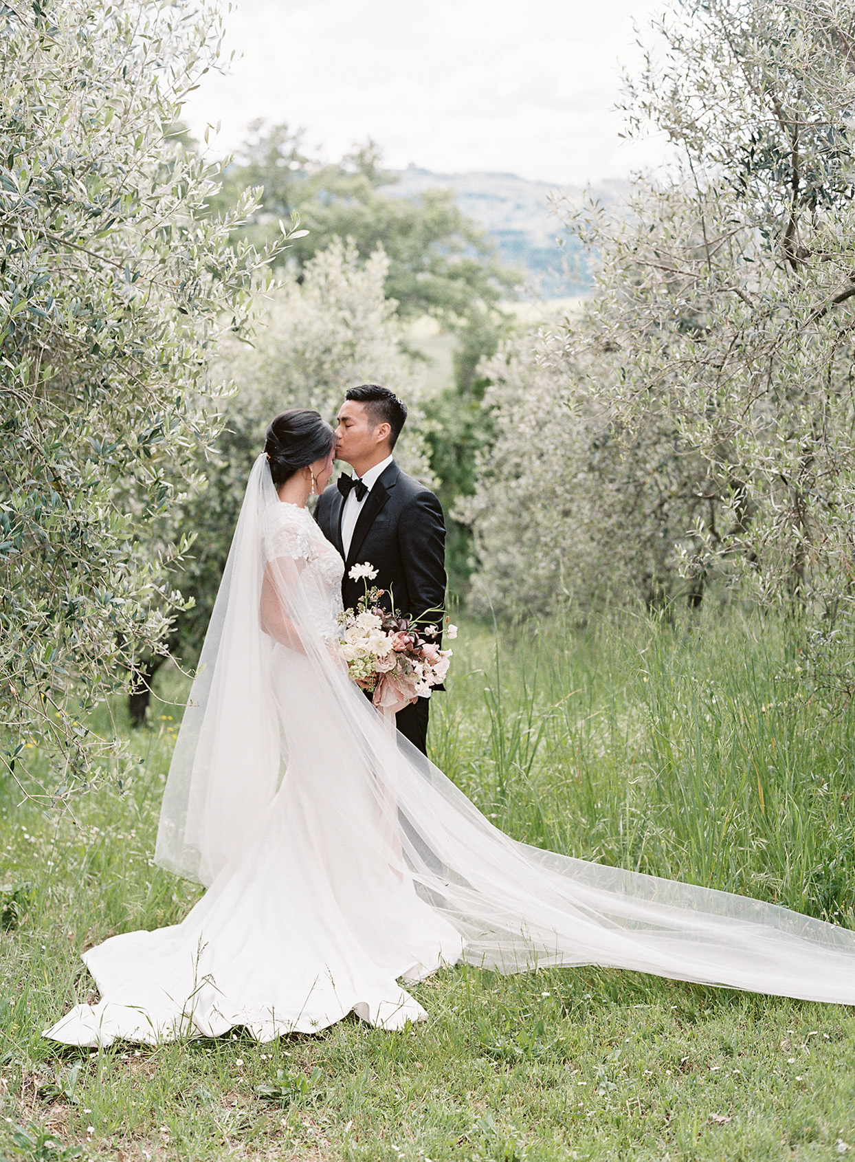 This Couple Flew Every Single One of Their Vendors to Italy for Their Intimate Wedding