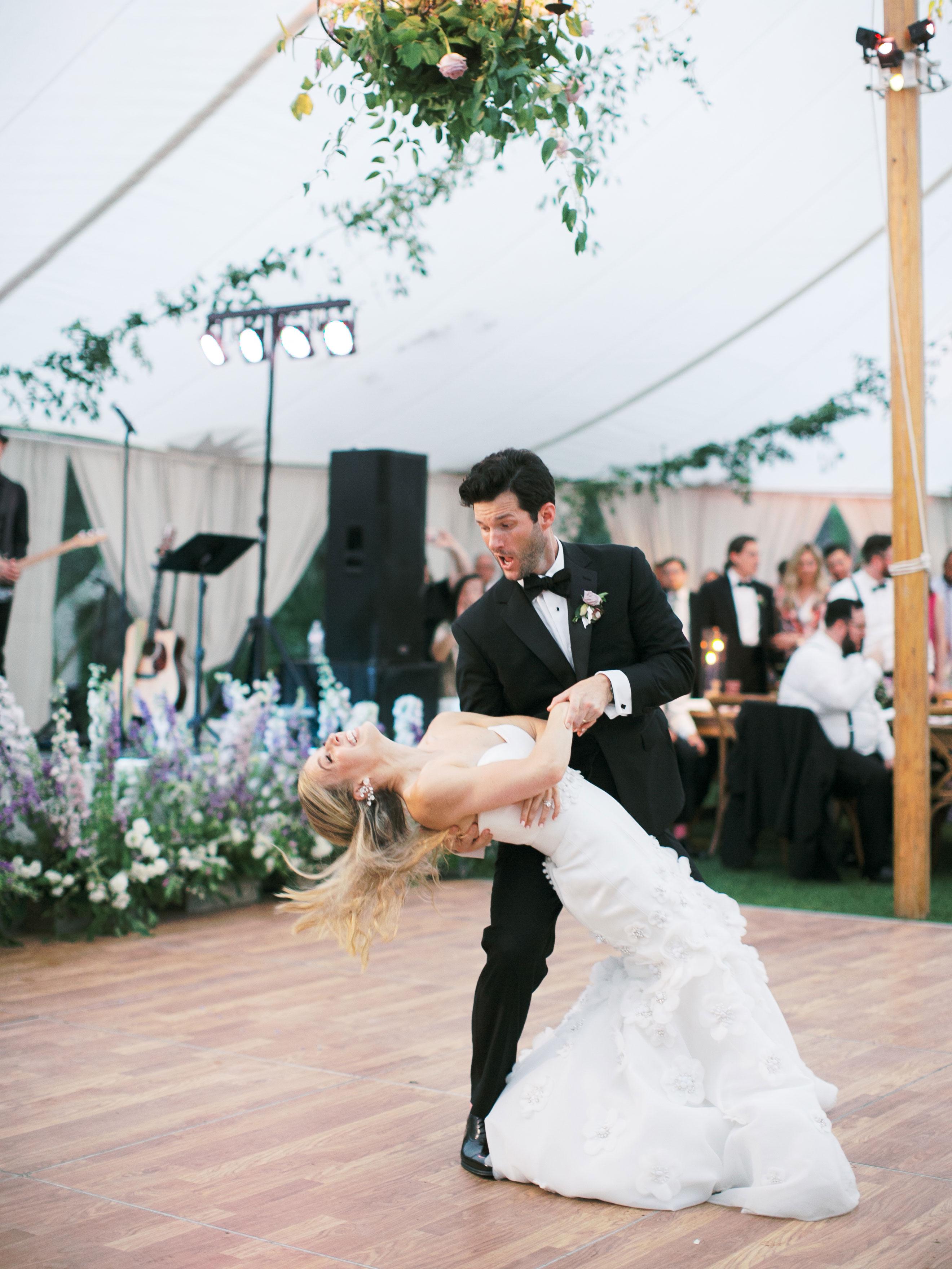 leighton craig wedding first dance dip