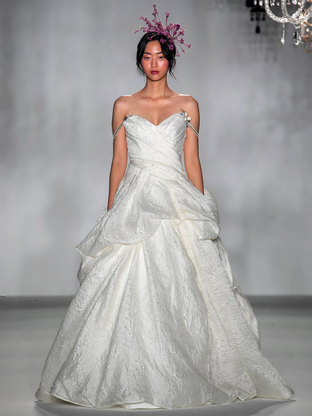 anne barge sweetheart strapless ball gown wedding dress fall 2020