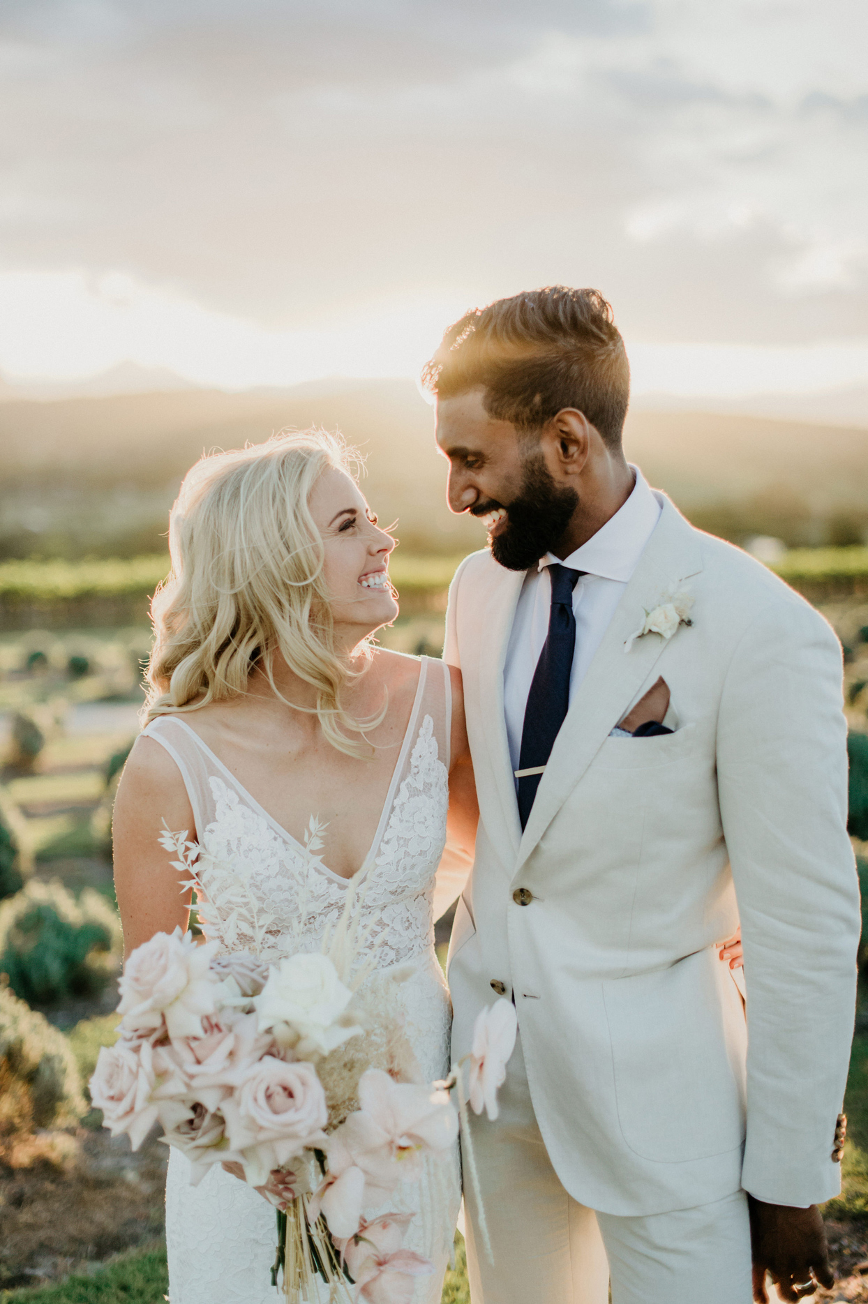 An Open-Air Chapel Set the Tone for This Earthy, Relaxed Wedding in Queensland, Australia