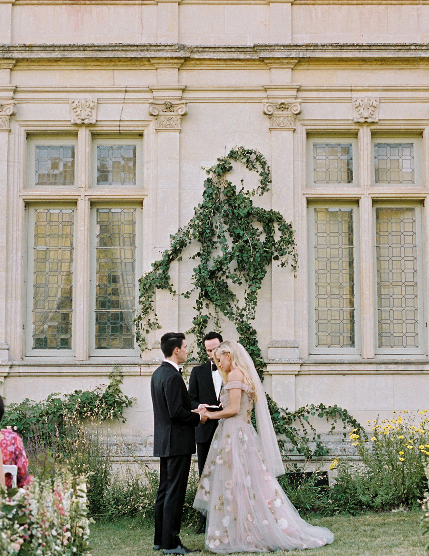 Asheton and Freddie's wedding ceremony