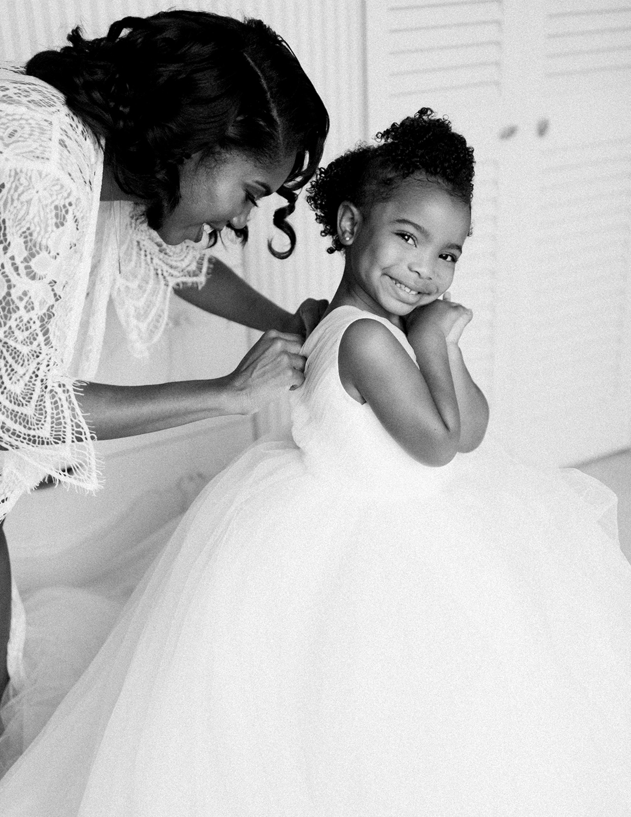ericka meechaeyl wedding flower girl