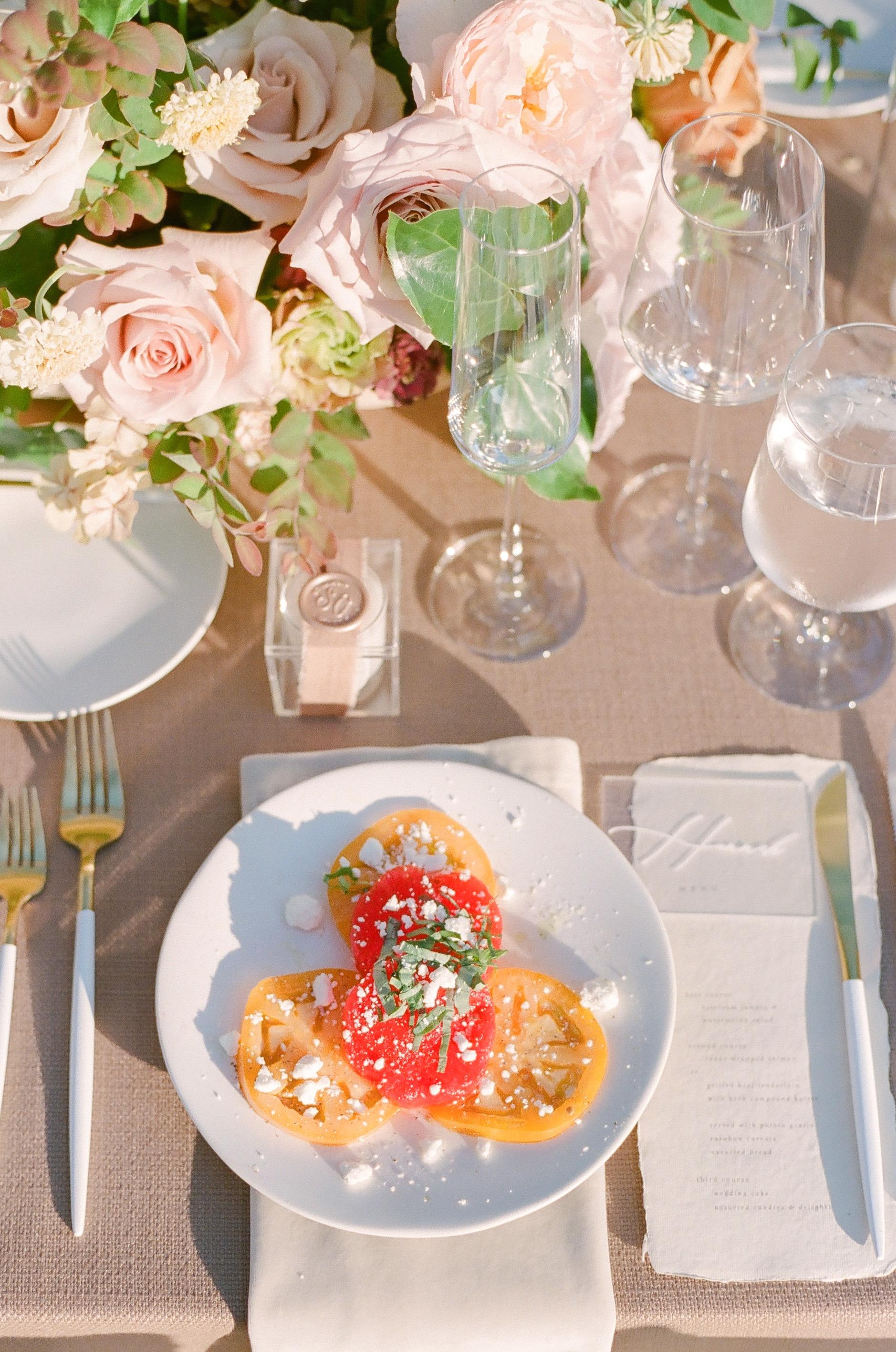 evelyn sam wedding reception dinner