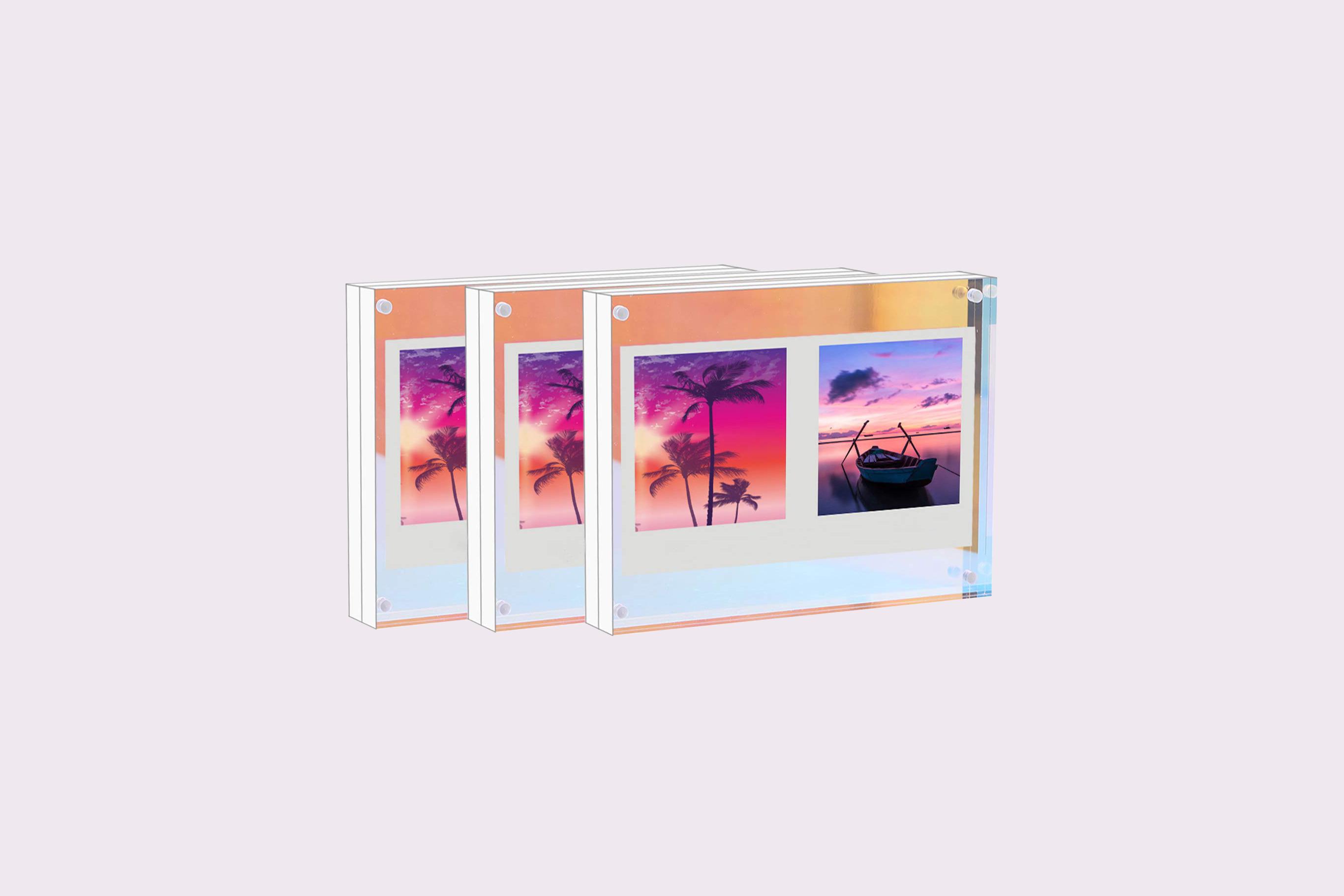 WINKINE Rainbow Block Frames
