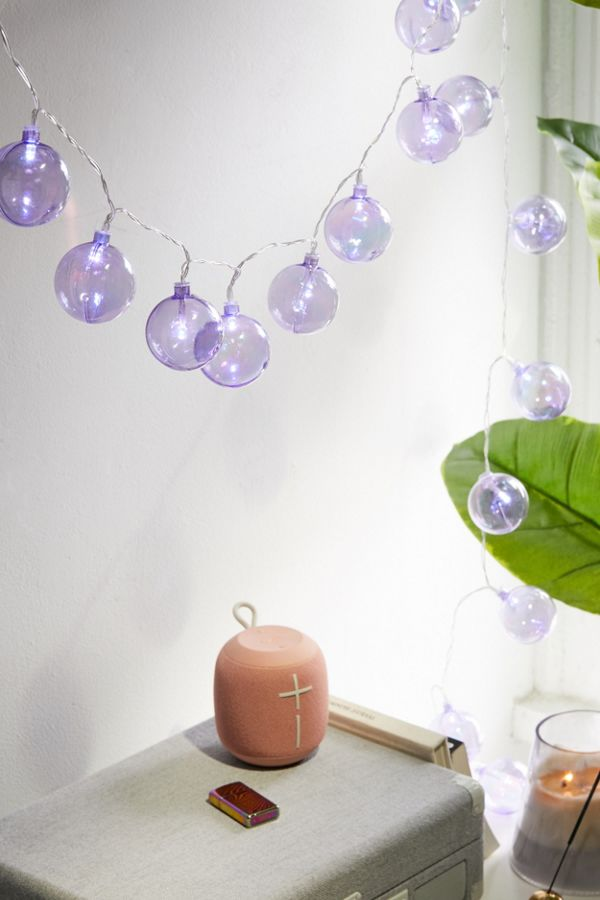 Urban Outfitters Iridescent Globe String Lights