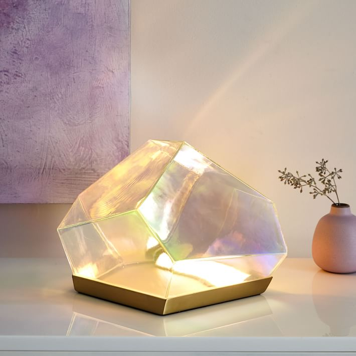 West ElmGlass Gem Table Lamp