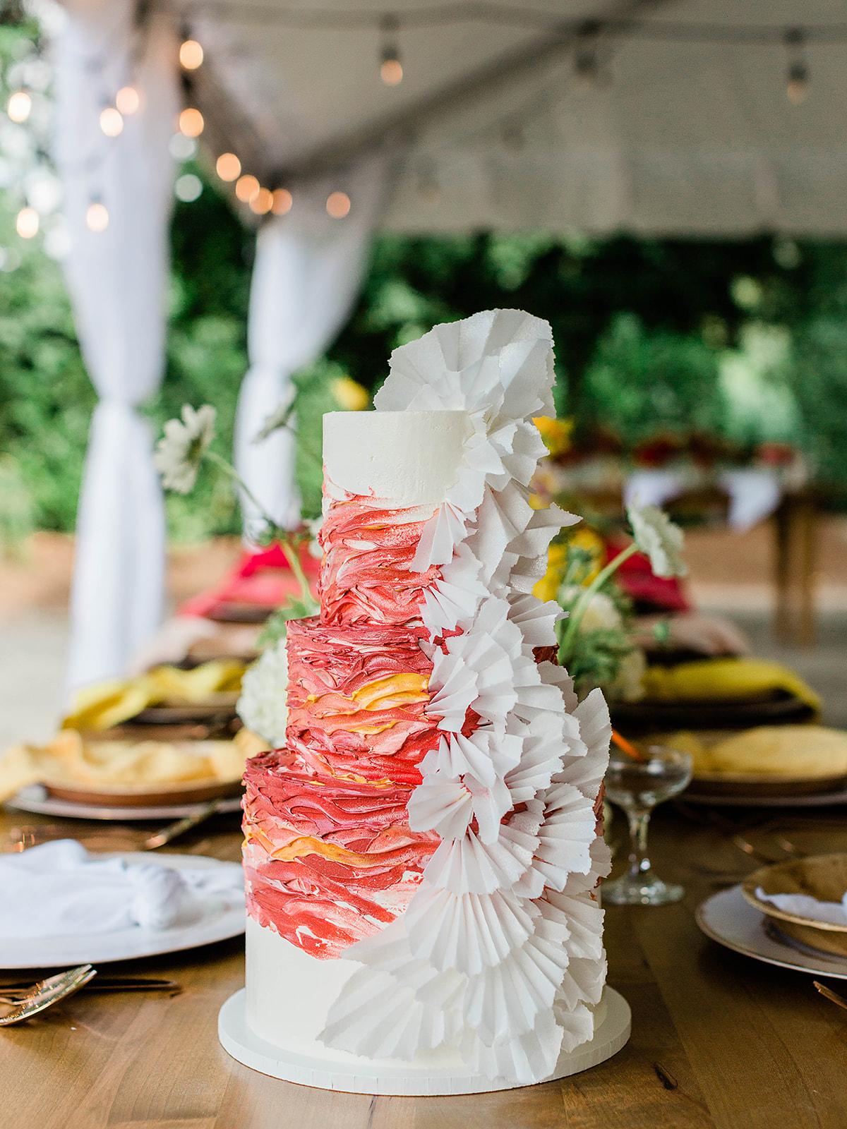 justin kevin wedding cake exterior