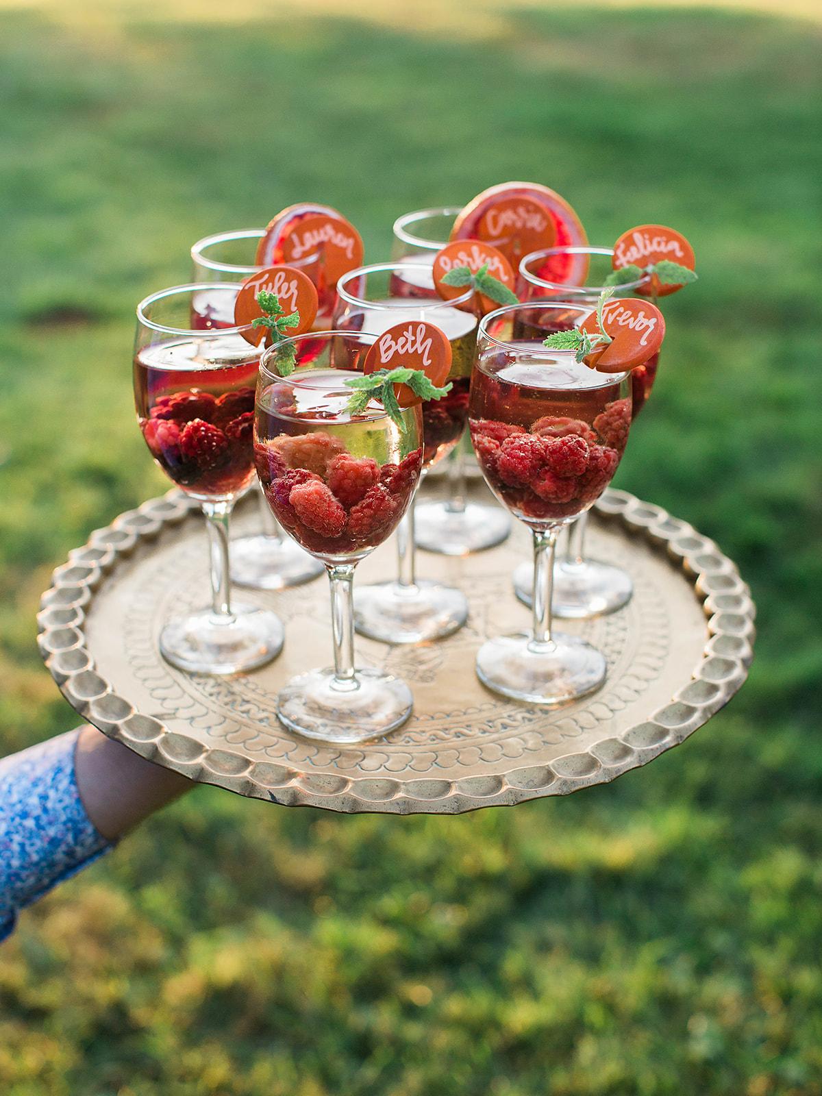 justin kevin wedding cocktails
