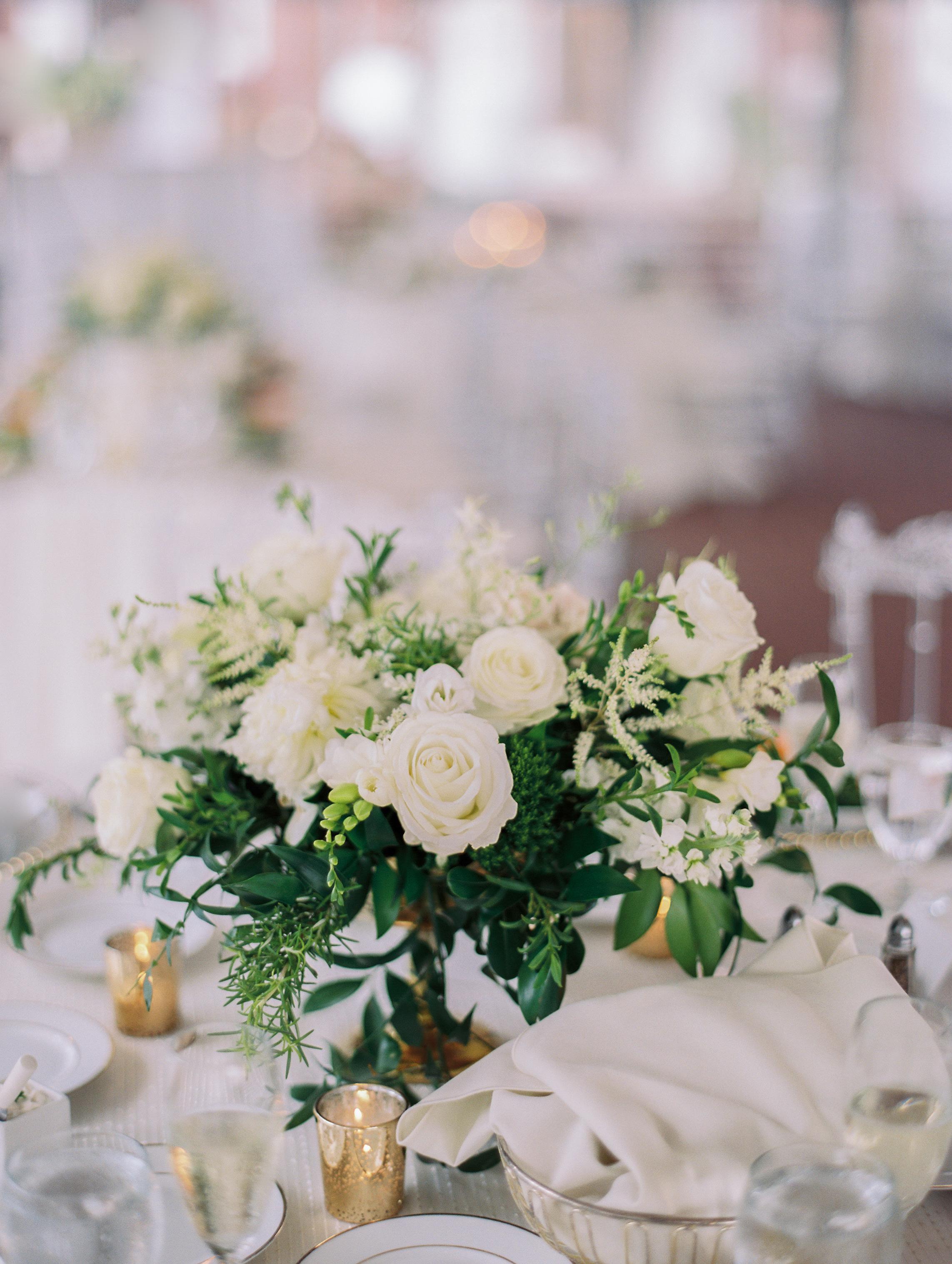 macey joshua wedding reception centerpieces