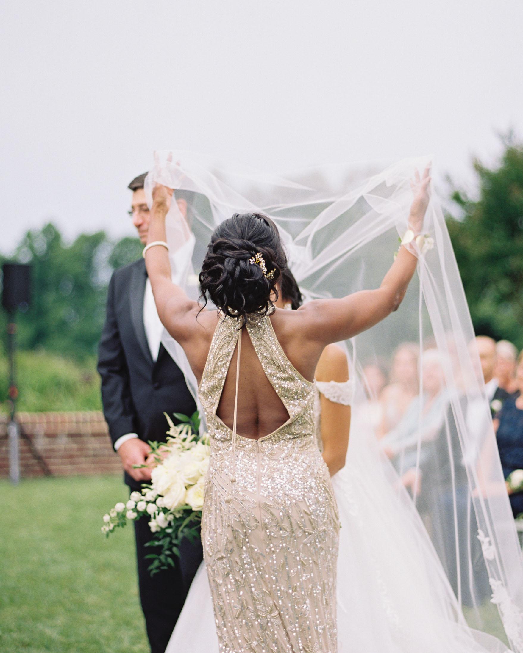 macey joshua bride's mother lifting veil