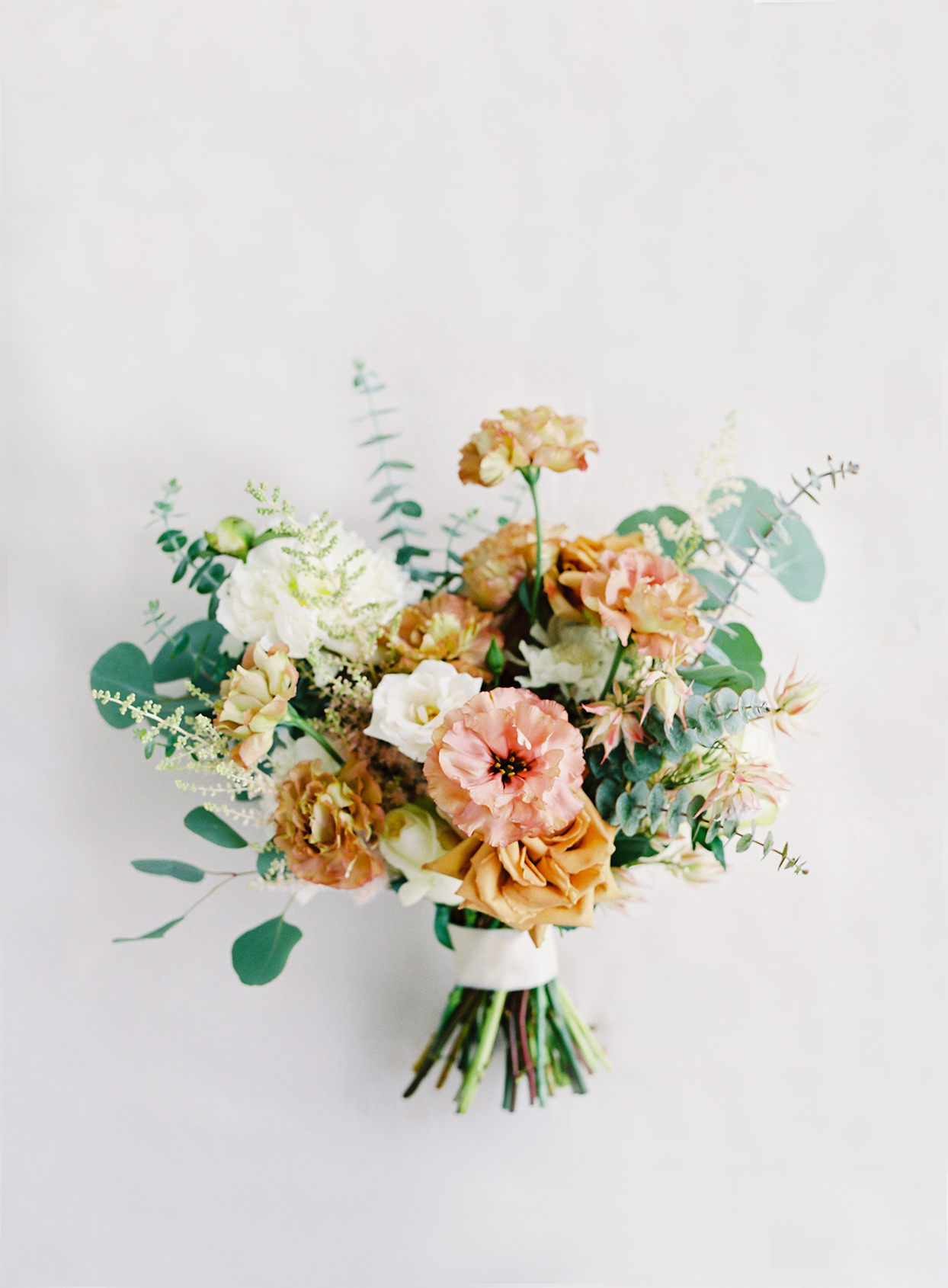 micaela curtis bride's wedding bouquet