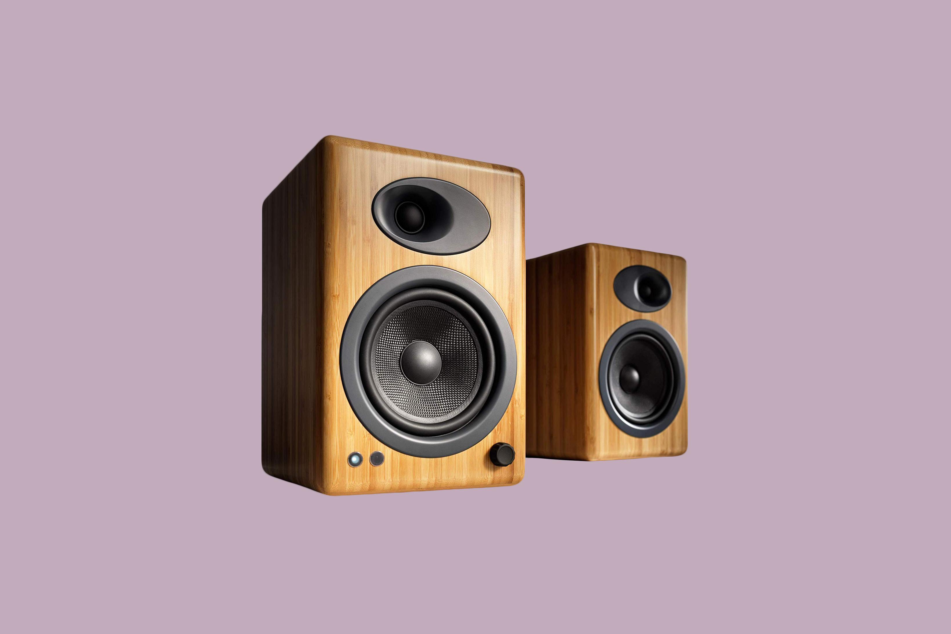 Audioengine A5 Plus Classic Bookshelf Speakers