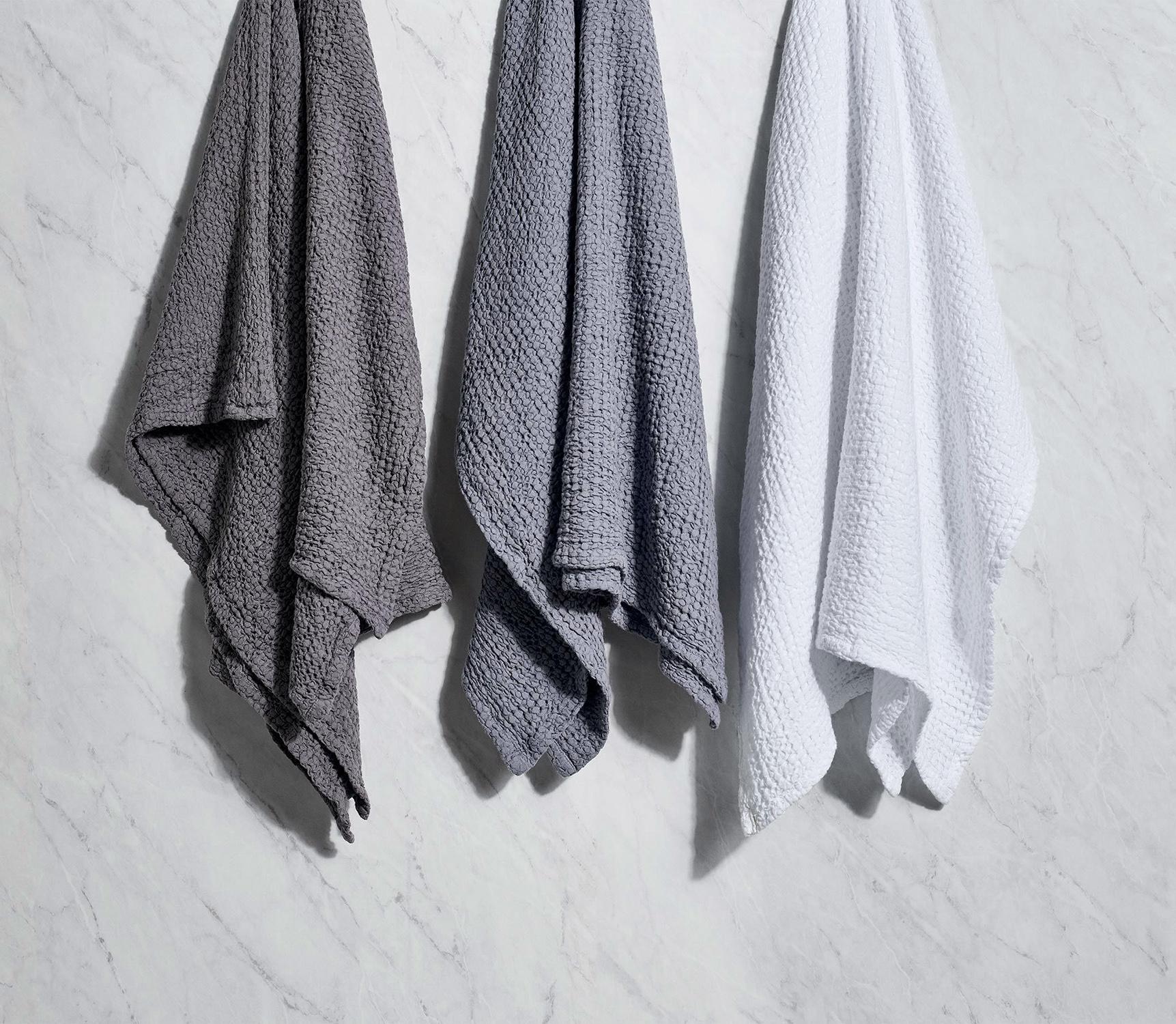 honeycomb bath towels
