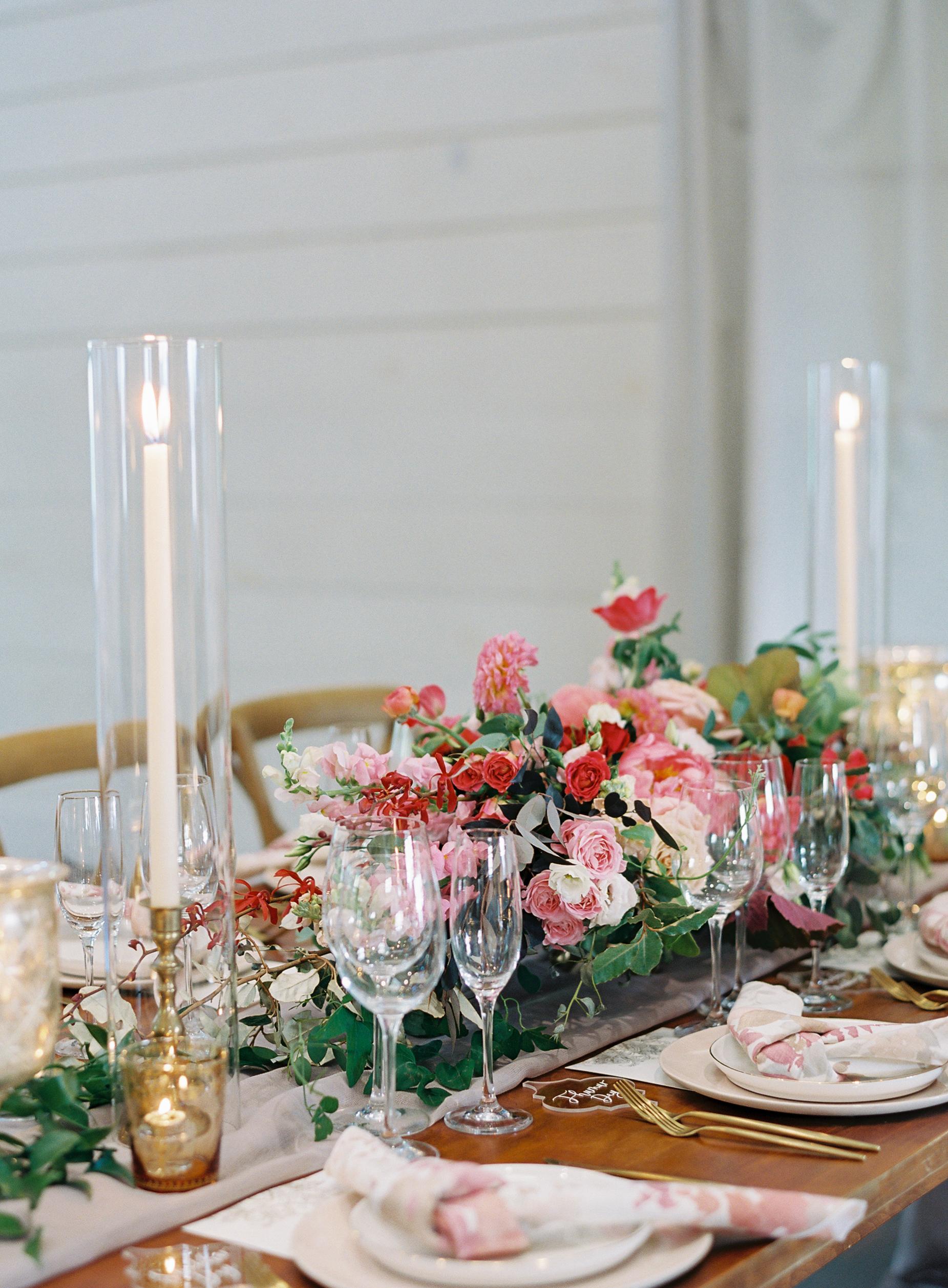 ronita ryan wedding reception centerpieces