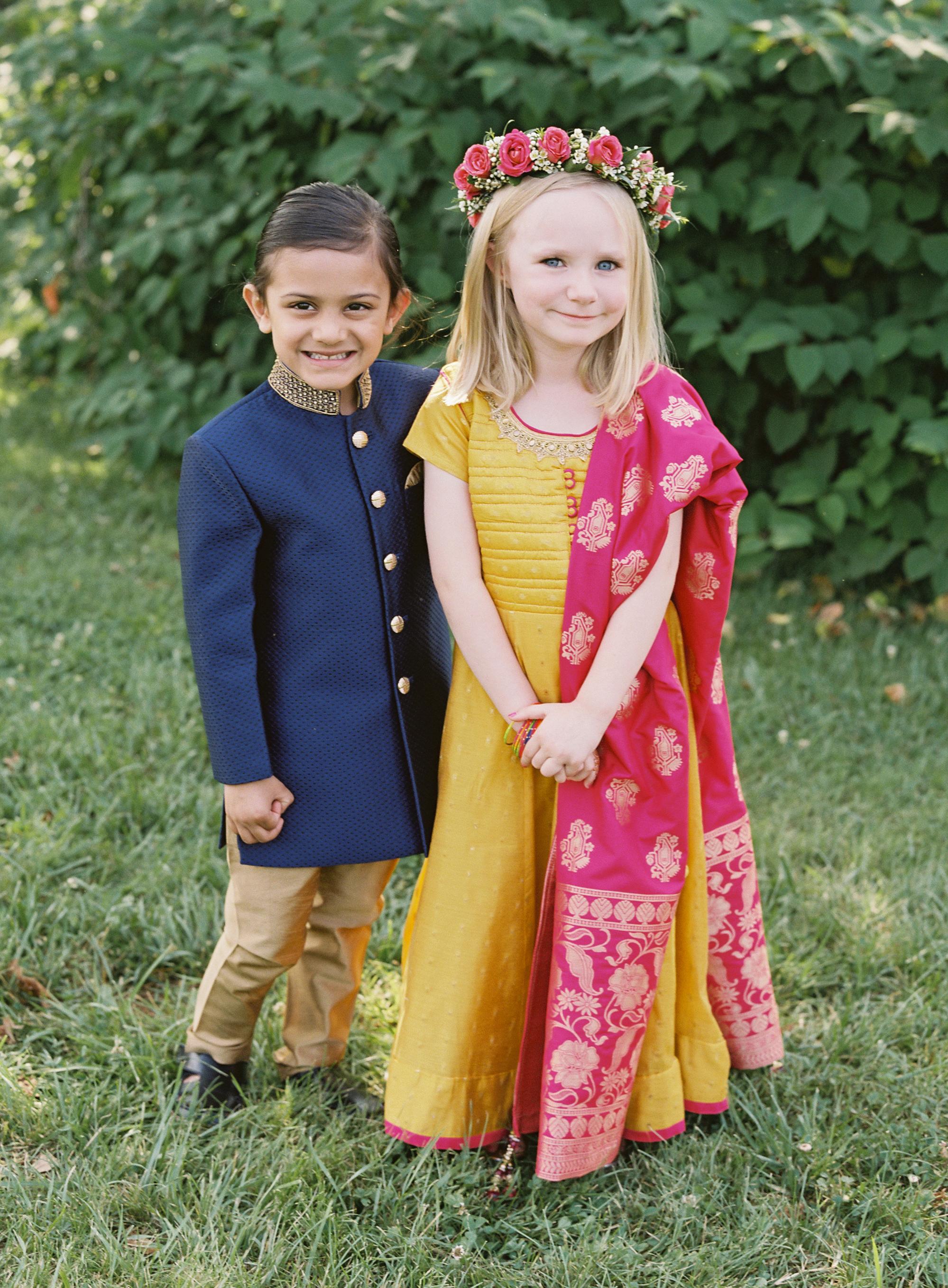 ronita ryan wedding ring bearer and flower girl