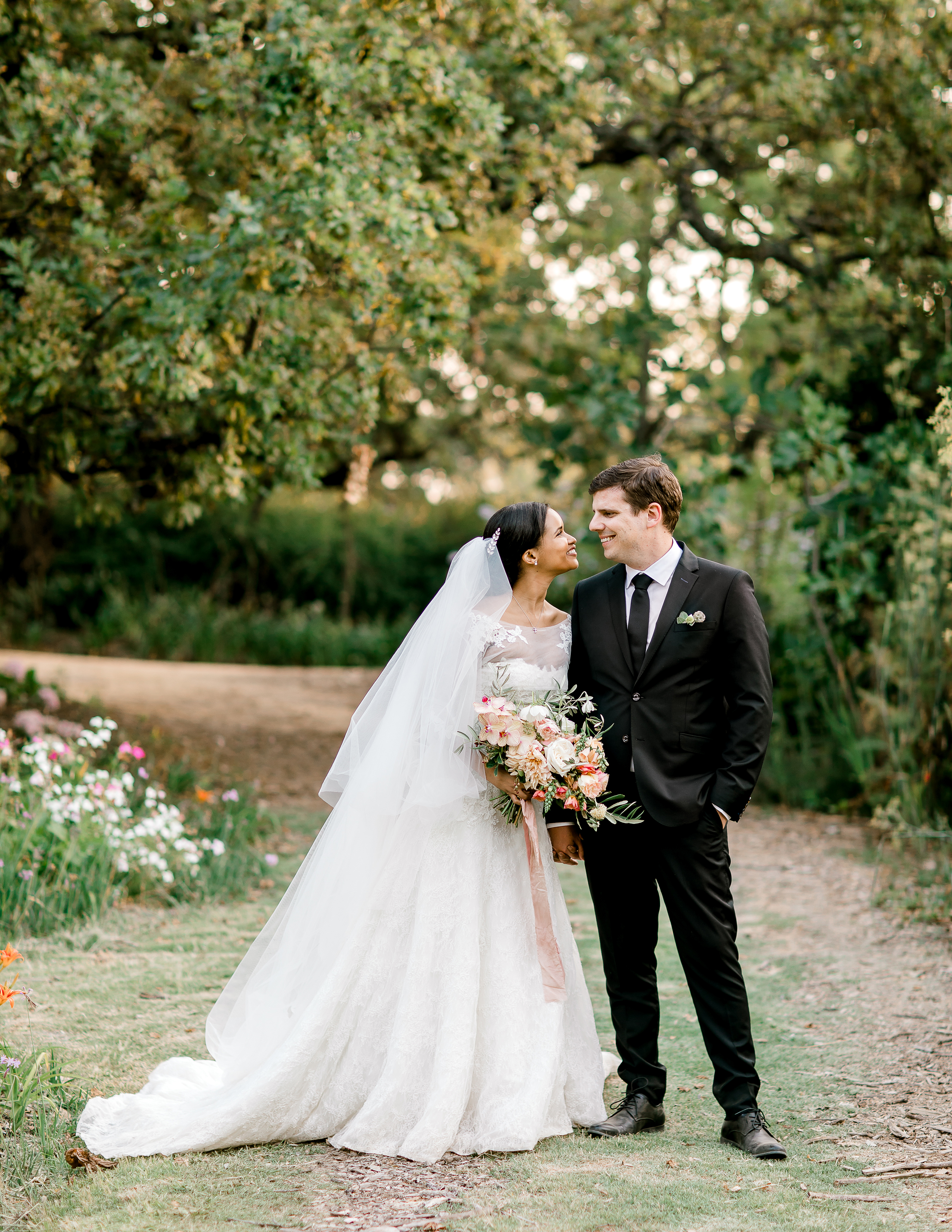 rorisang stephen wedding couple