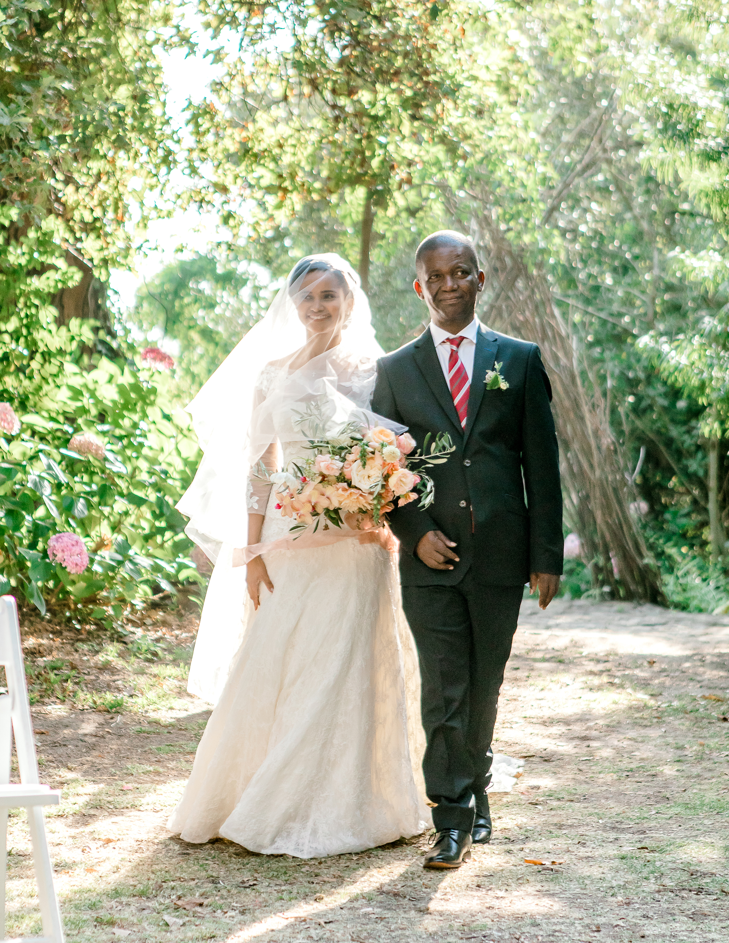 rorisang stephen wedding processional father of the bride