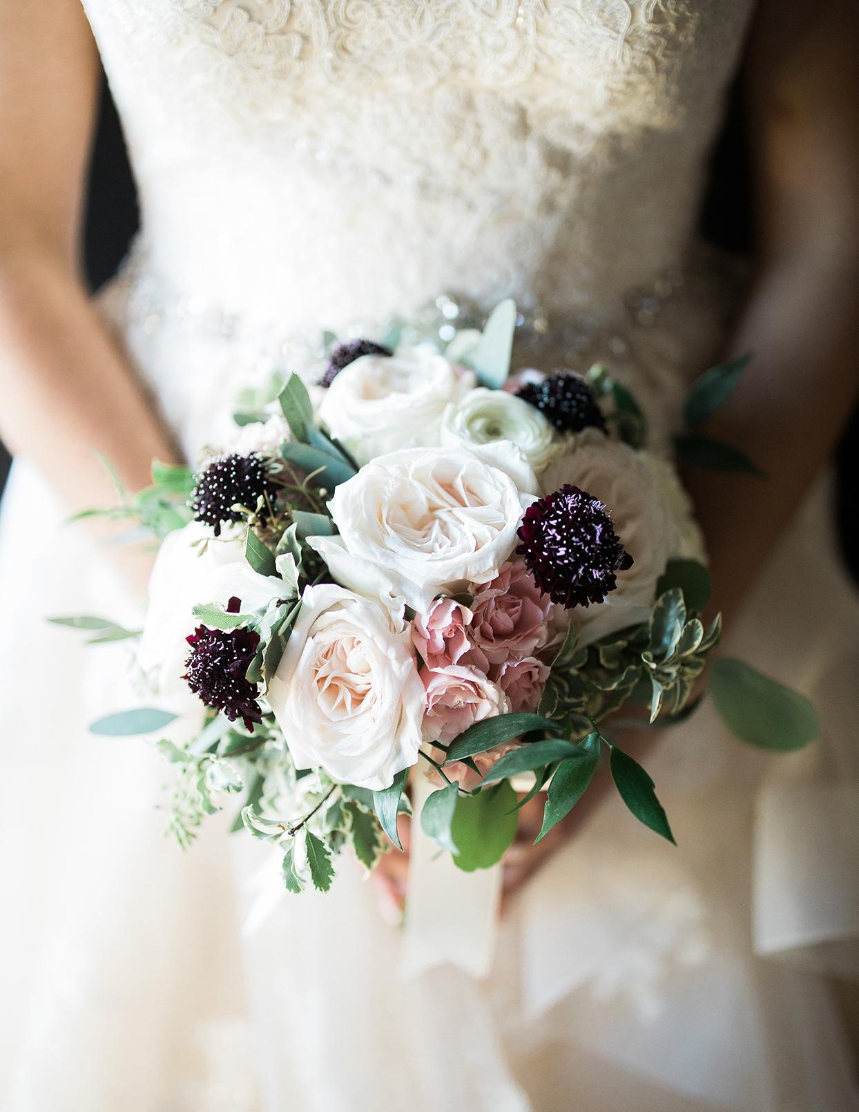 victoria tk wedding bride's bouquet