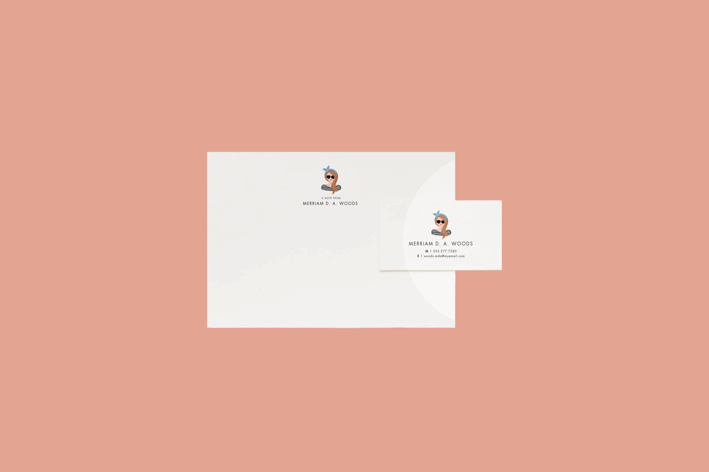 """Rifle Paper Co. """"Portrait"""" Stationery"""