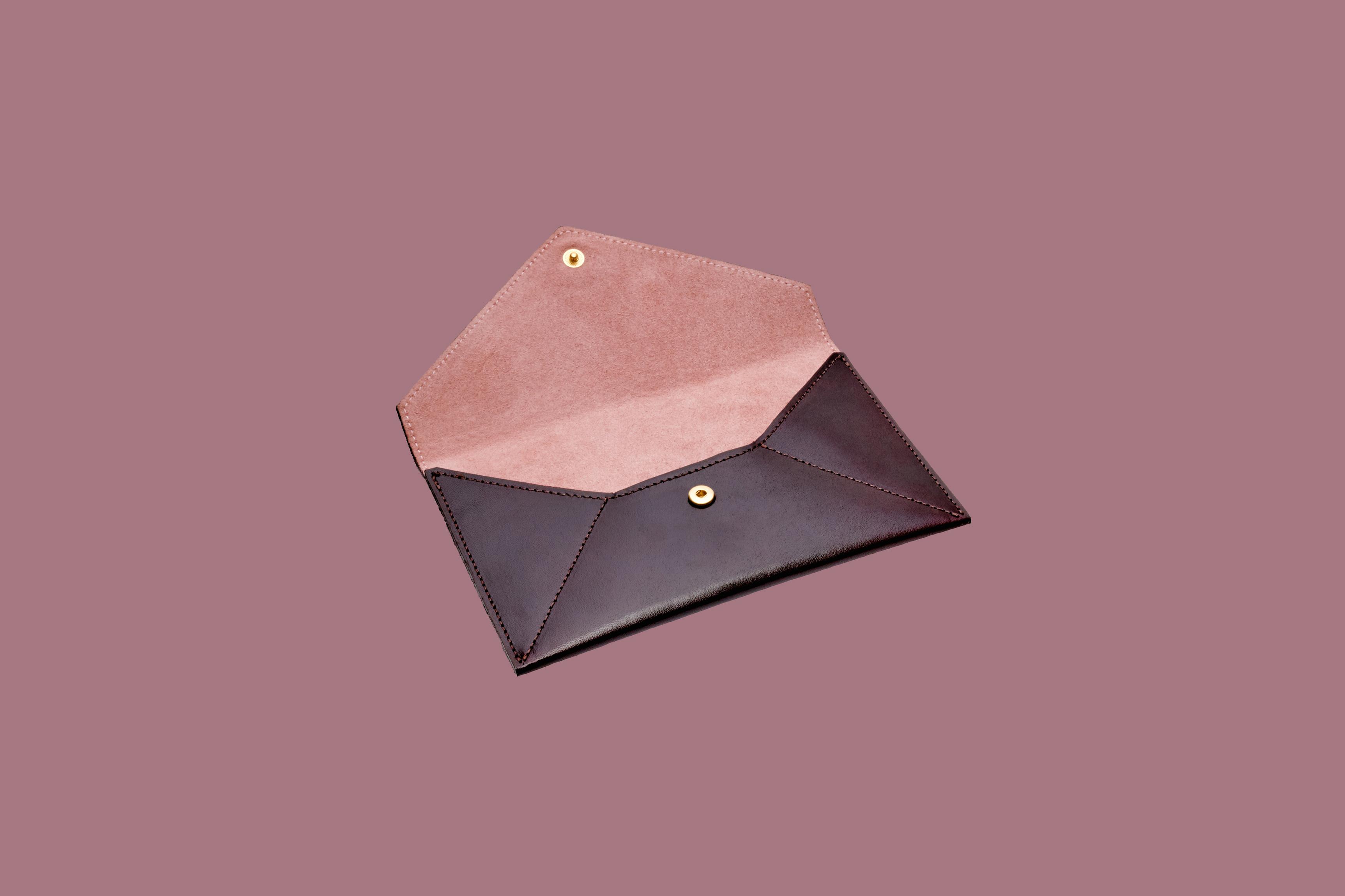 simone leblanc envelope clutch