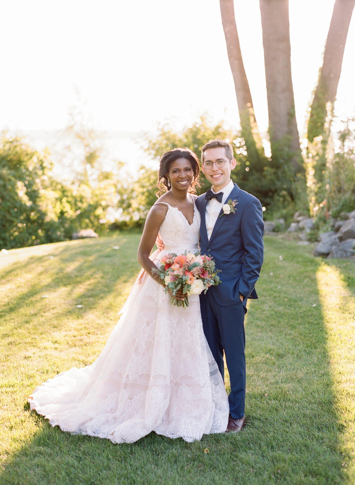 charlene jeremy wedding couple portrait