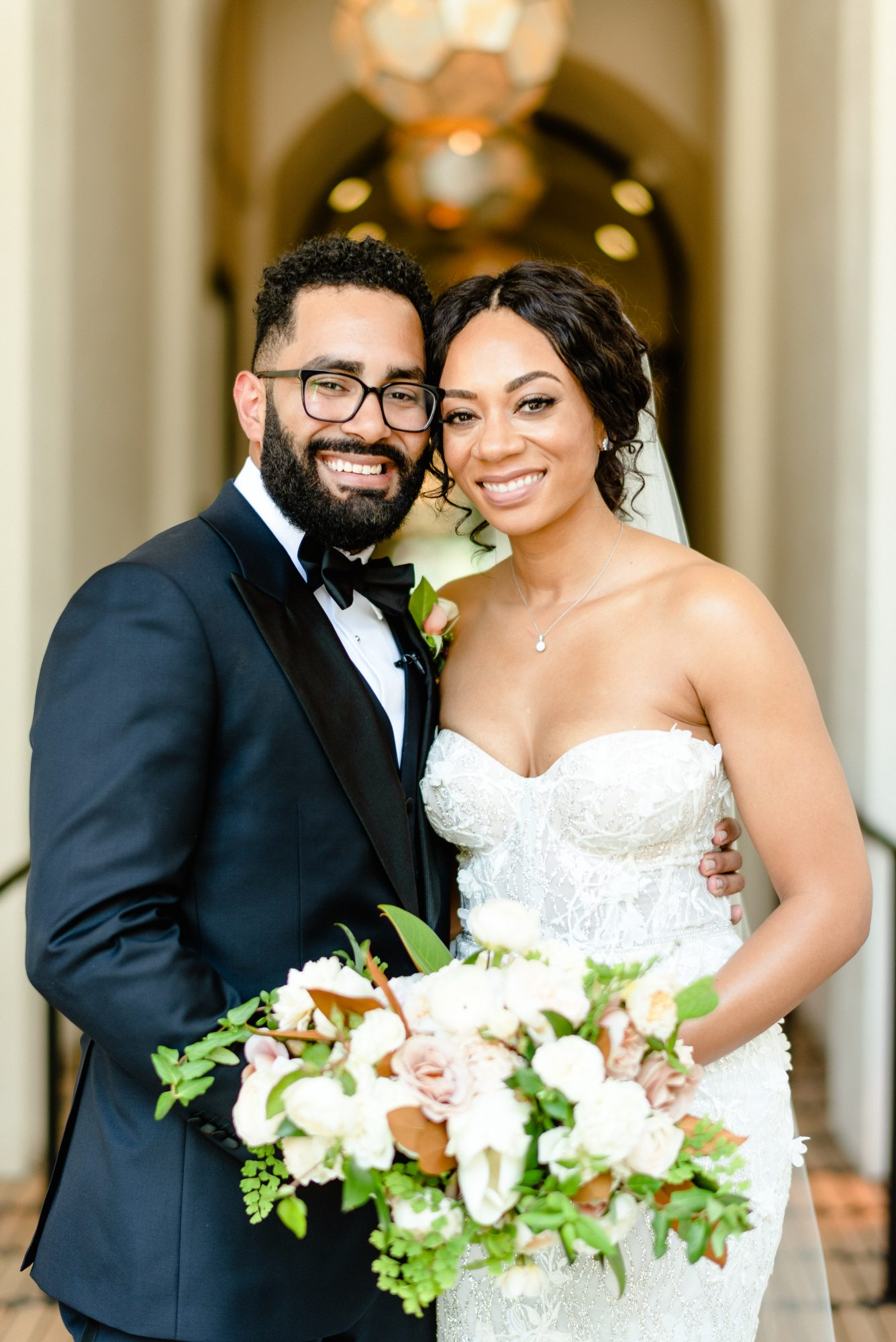 """This Couple Used the New Orleans Mantra """"Laissez Les Bon Temps Rouler"""" as a Guide When Planning Their Los Angeles Wedding"""